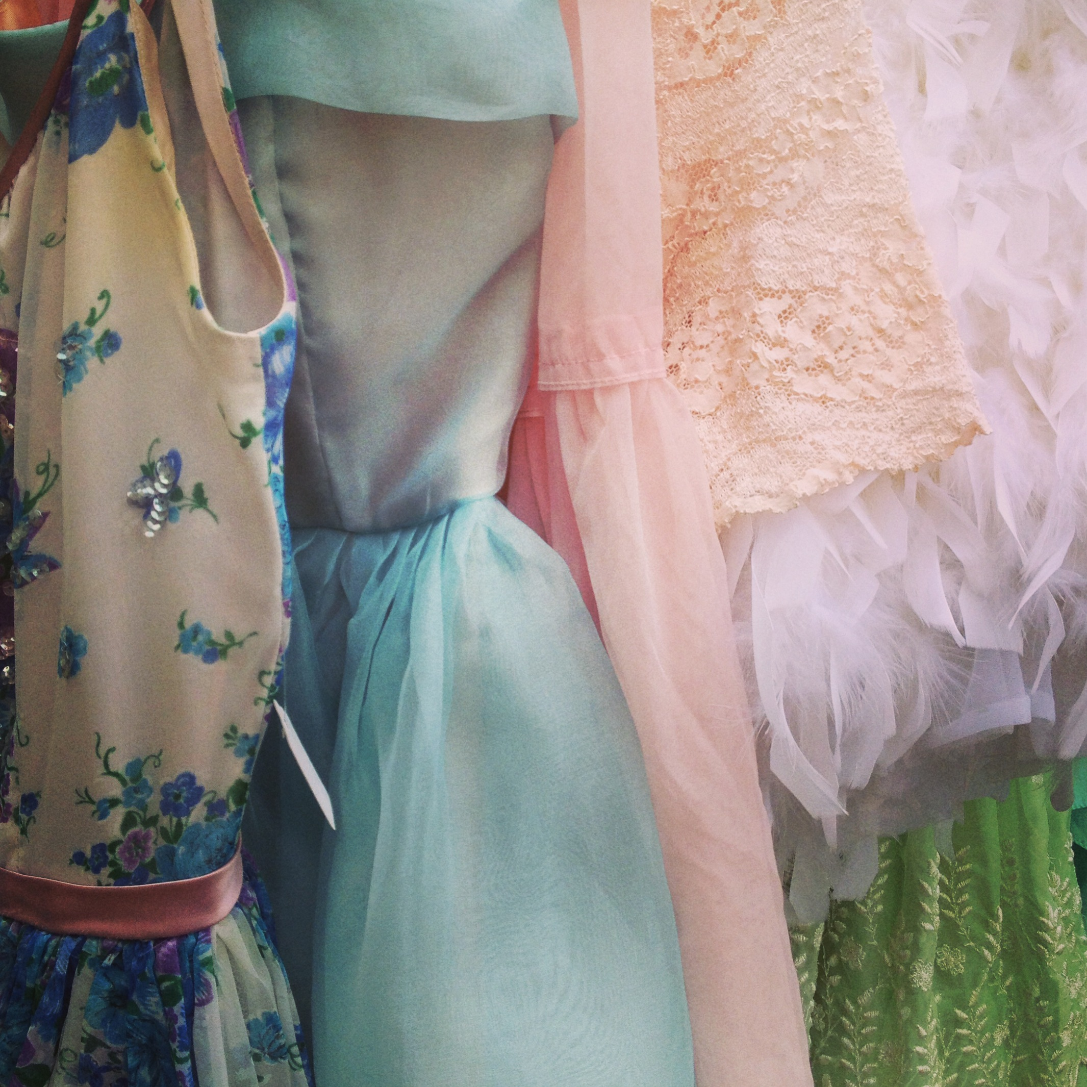 Spring garments at Shareen