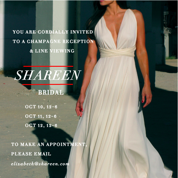 SHAREEN Bridal Reception Invite