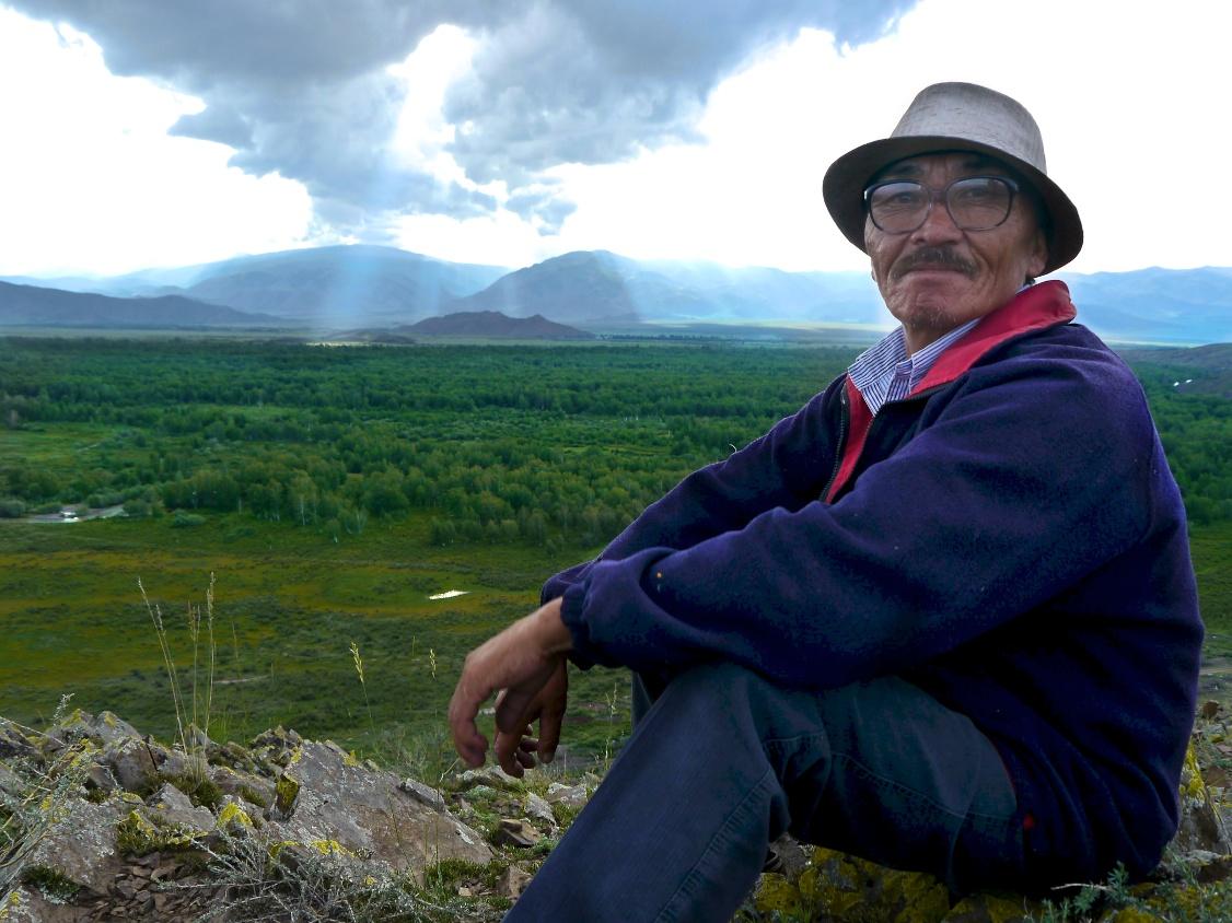 view from mountain near teeli