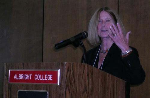 Anna Adams, President