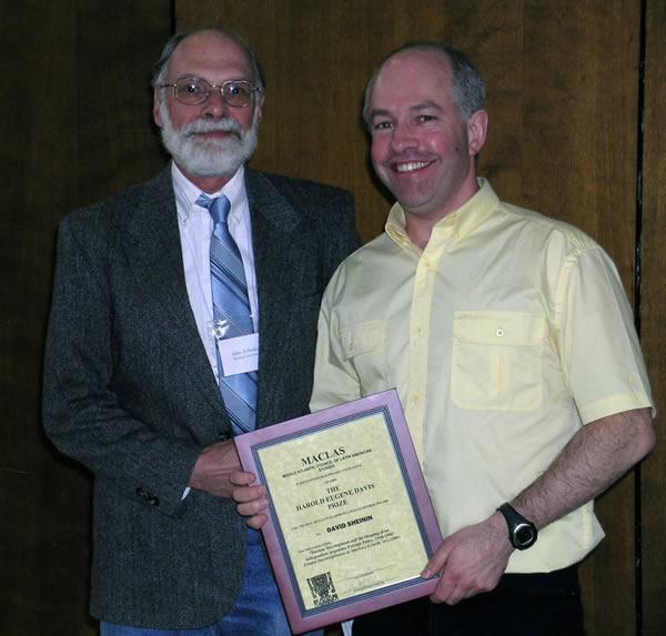 Davis Prize, David, John