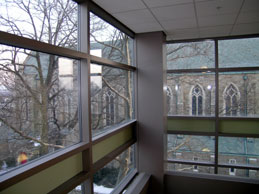 Muhlenberg College from Moyer Hall