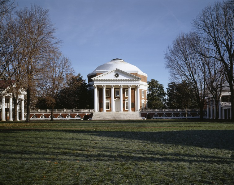 The Rotunda at the University of Virginia, Charlottesville