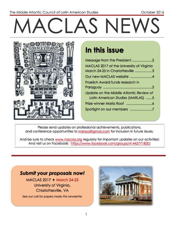Click on image for October 2016 newsletter.