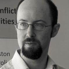 Dr. Jeffrey D. Pugh, Assistant Professor of Conflict Resolution, University of Massachusetts Boston.