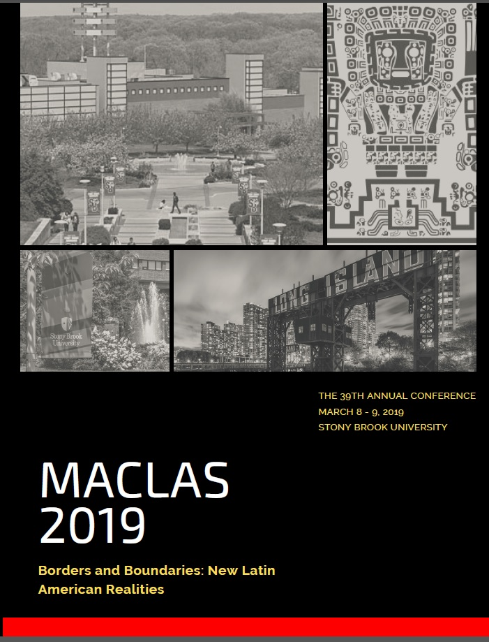 Click on the image above for the final program for MACLAS 2019 at Stony Brook University.