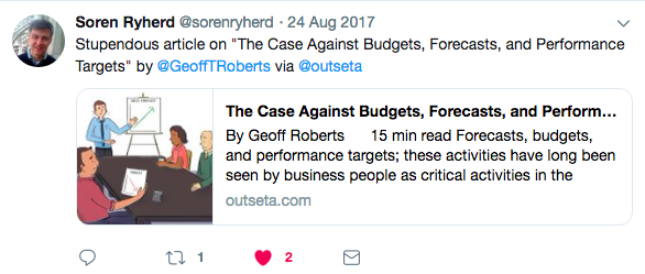 The Case Against Budgets, Forecasts, and Performance Targets