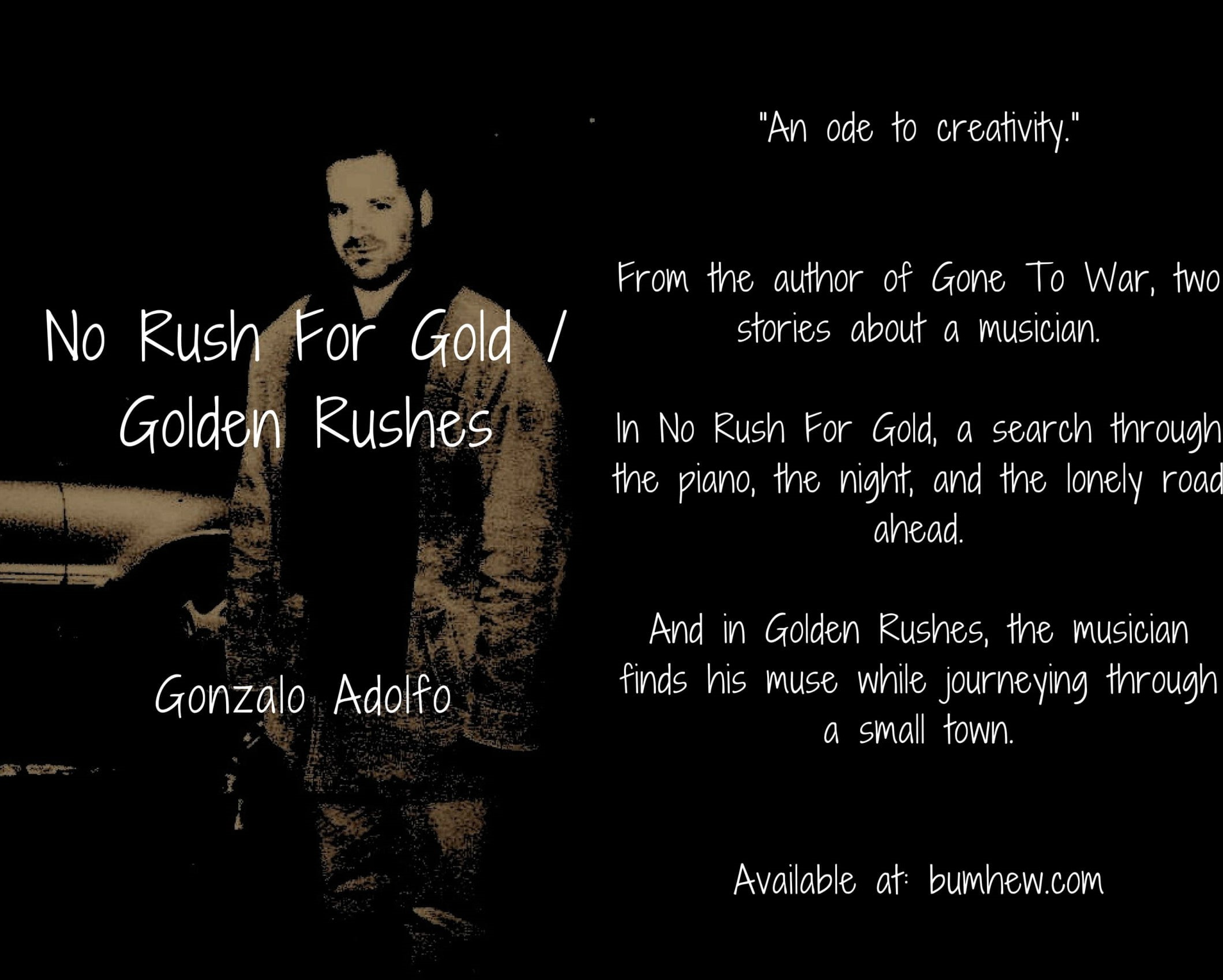 No Rush For Gold / Golden Rushes. Published by Detached Books in January 2017. Click on image to purchase.