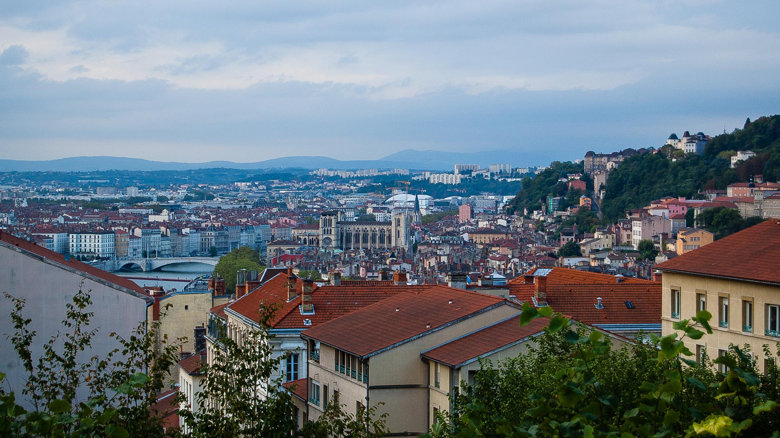 Lyon France Cityscape