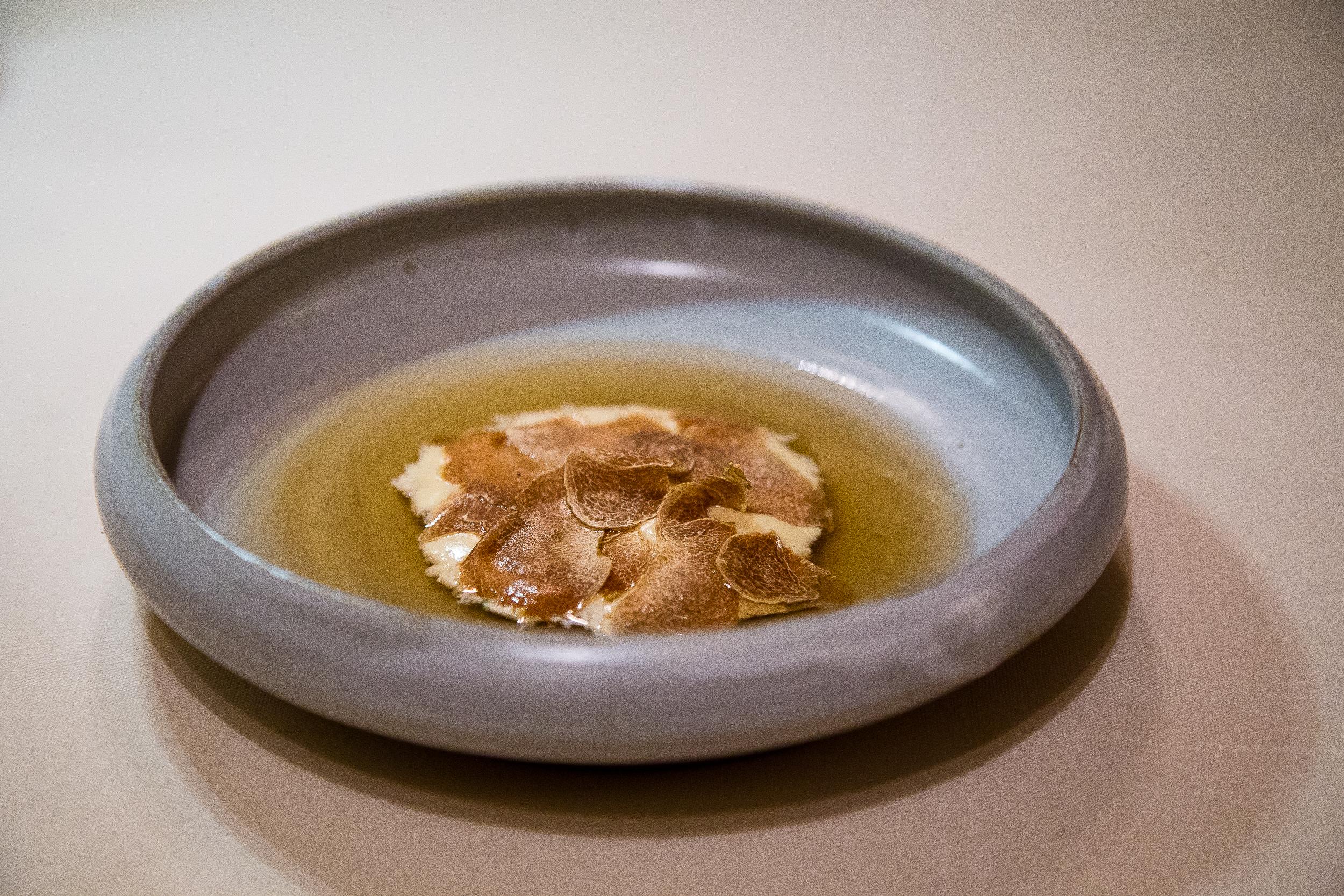 Matsutake with White Truffle and Pine