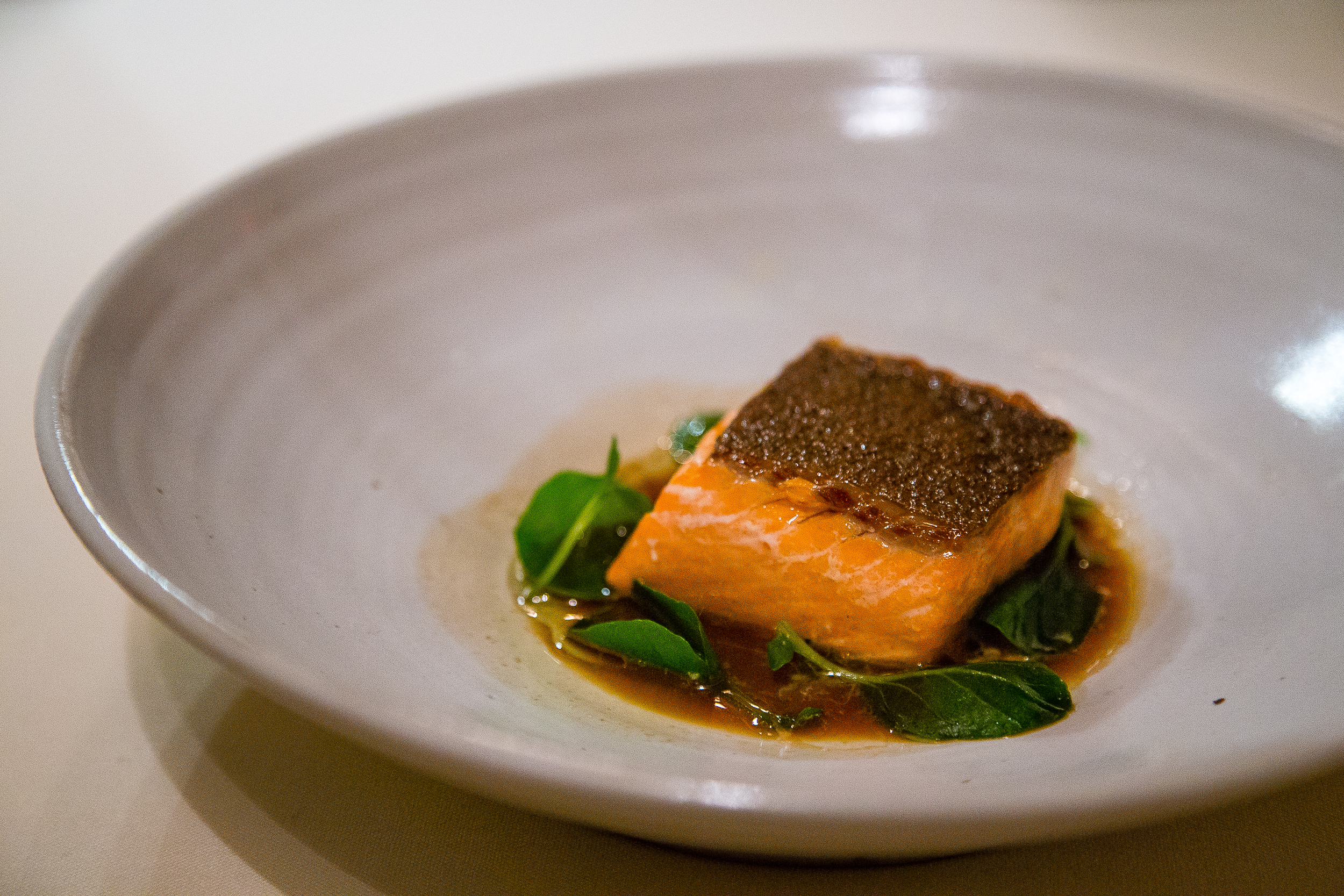 Trout with Watercress