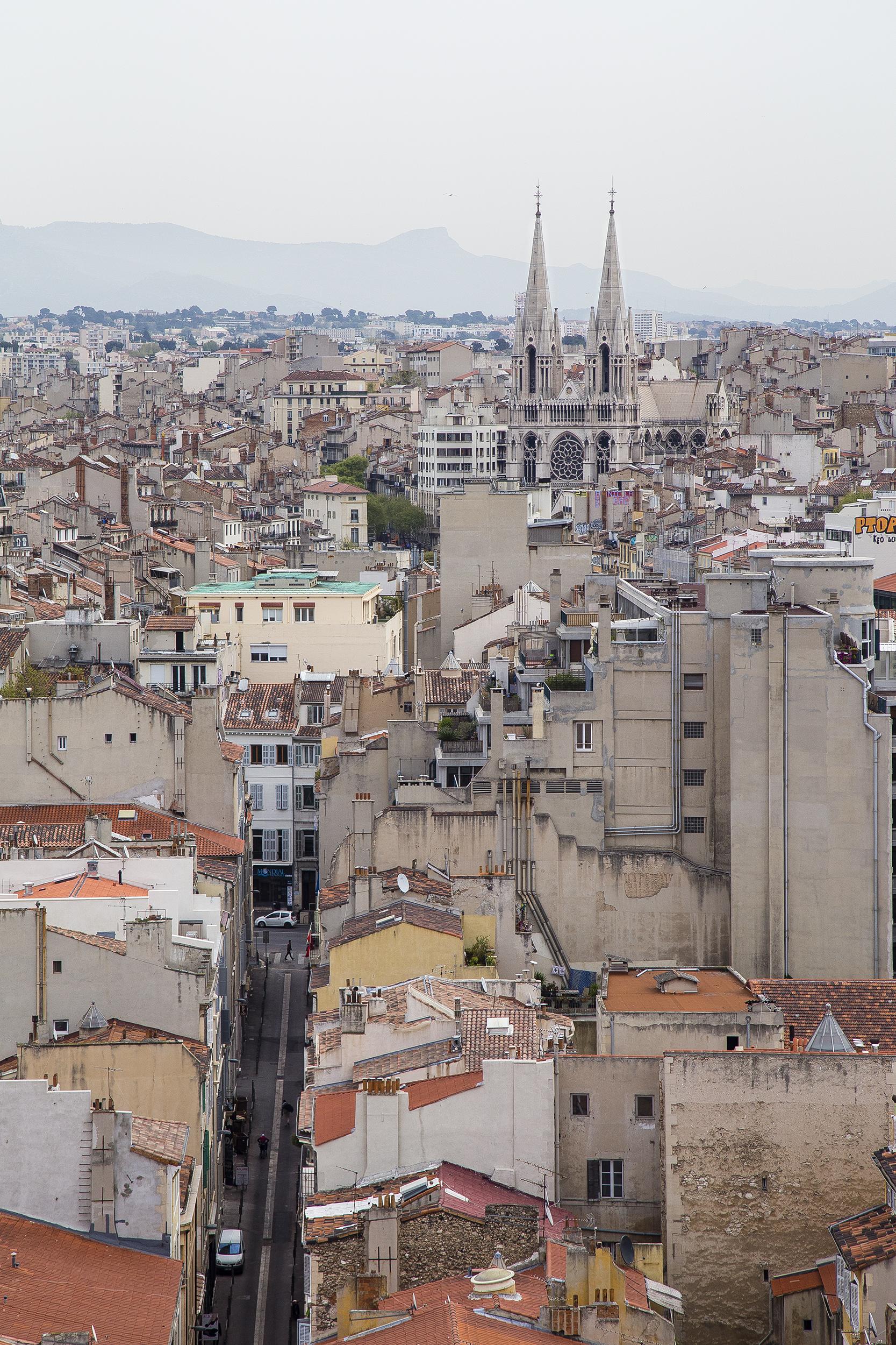 View from the apartment: Église Saint-Vincent de Paul