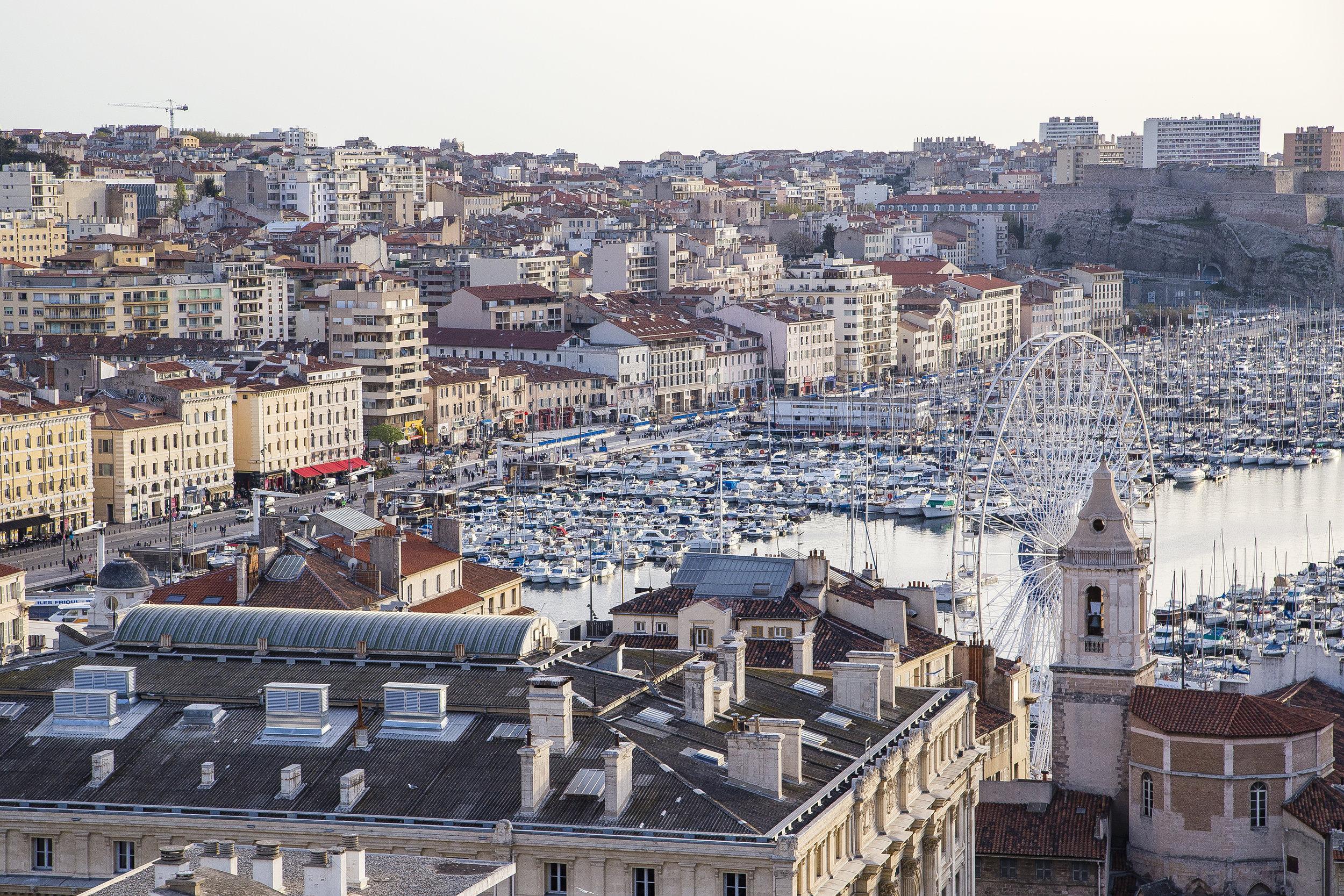 Marseille France Old Port