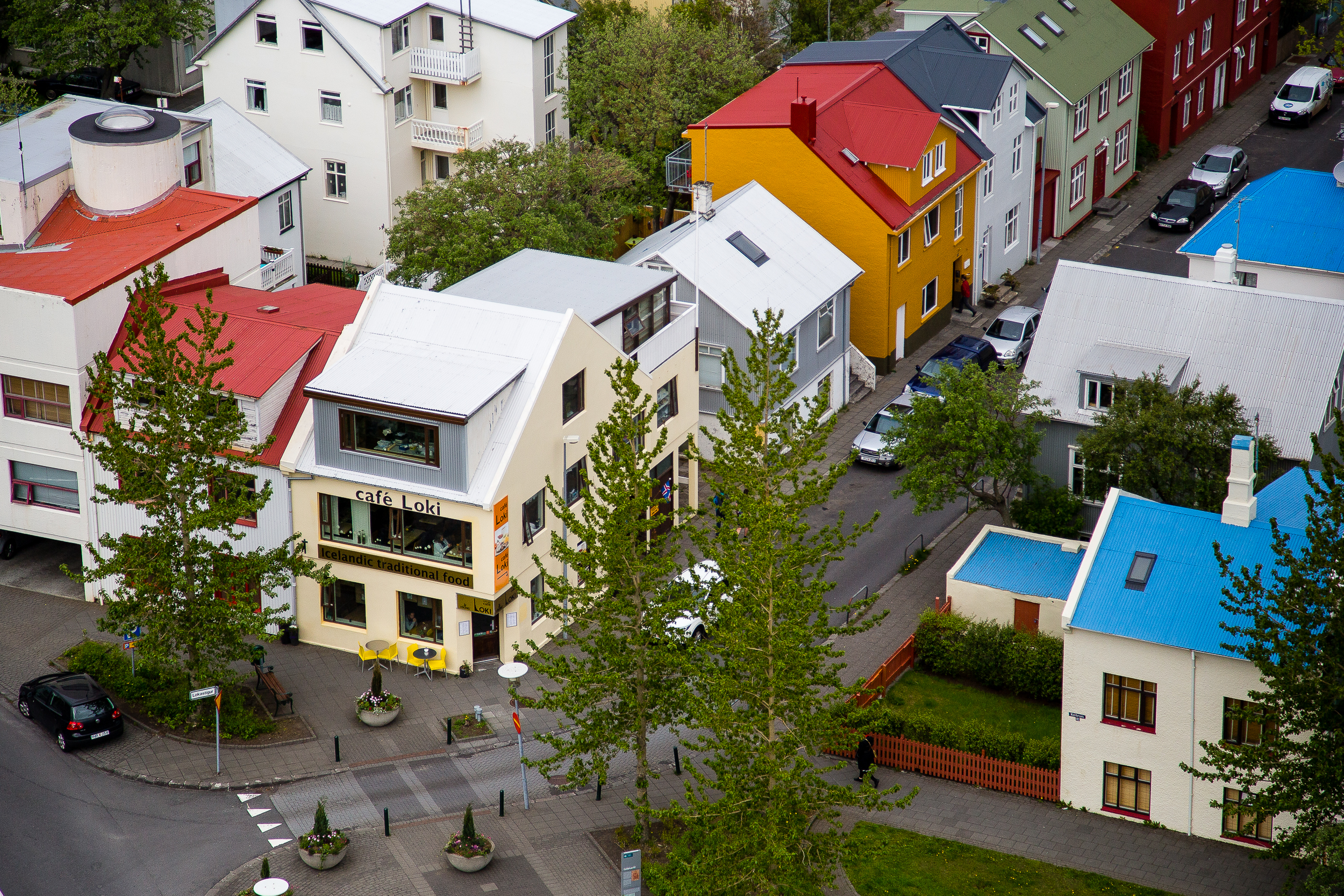 Is it just me, or does Reykjavik from above kind of look like a miniature model town?