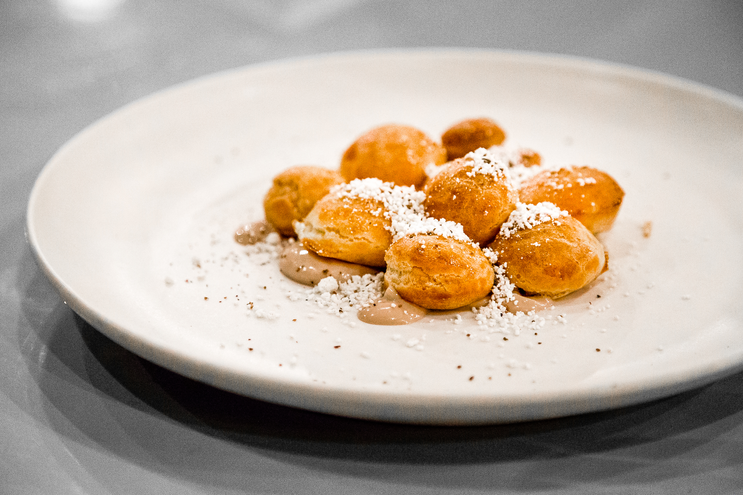 Choux, Porcini, Brown Butter