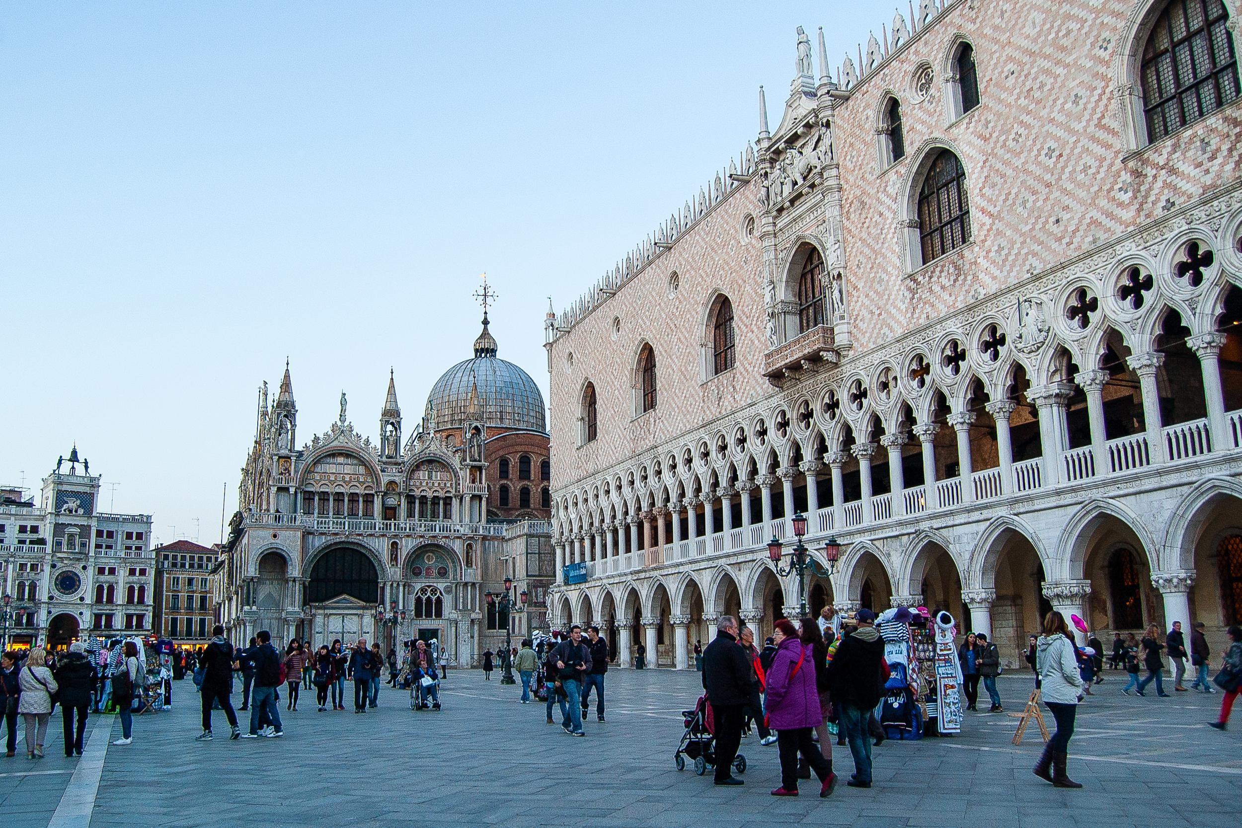 Venice Italy Palazzo Ducale