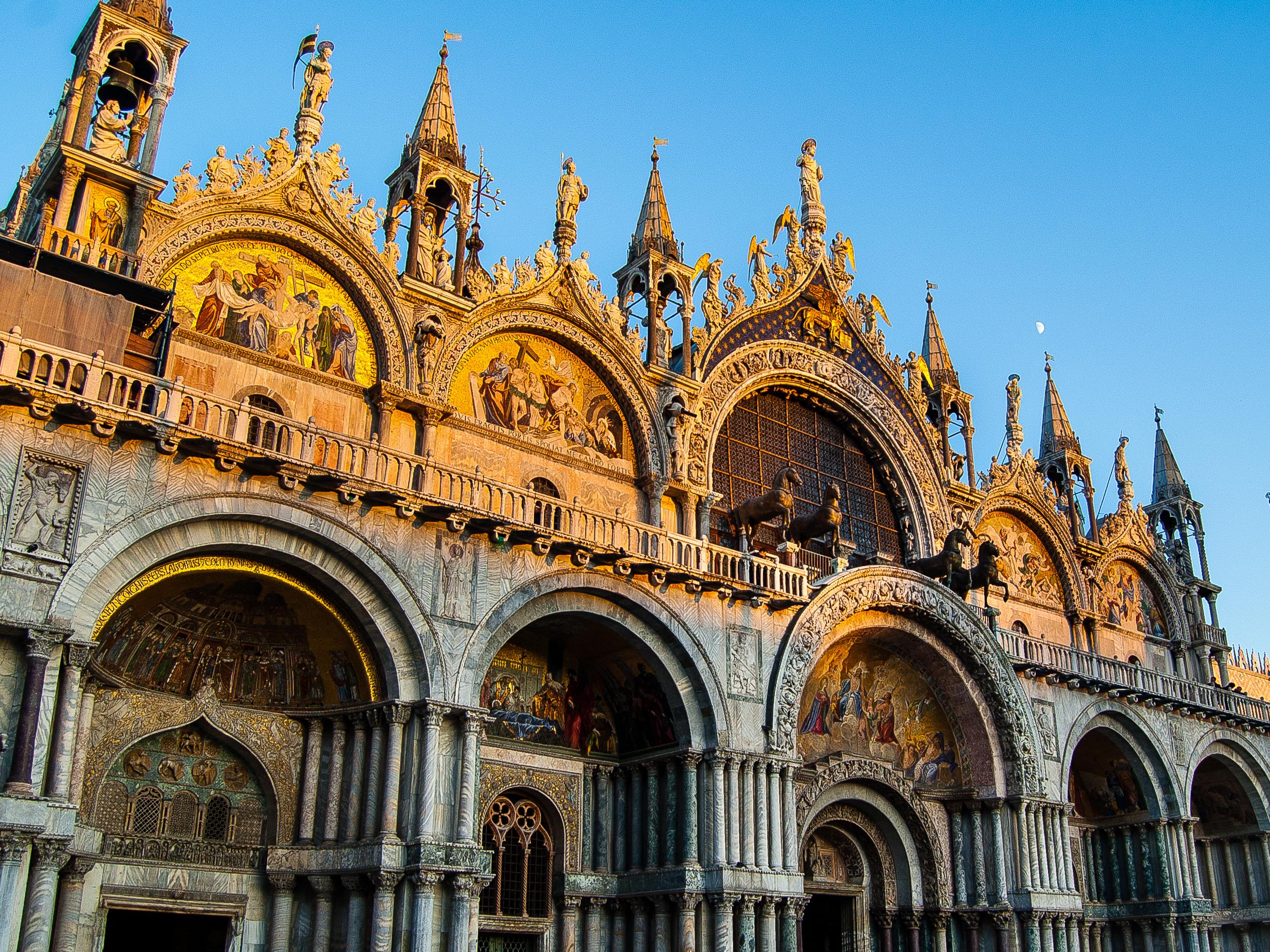 Venice Italy Saint Mark's Basilica Basilica di San Marco