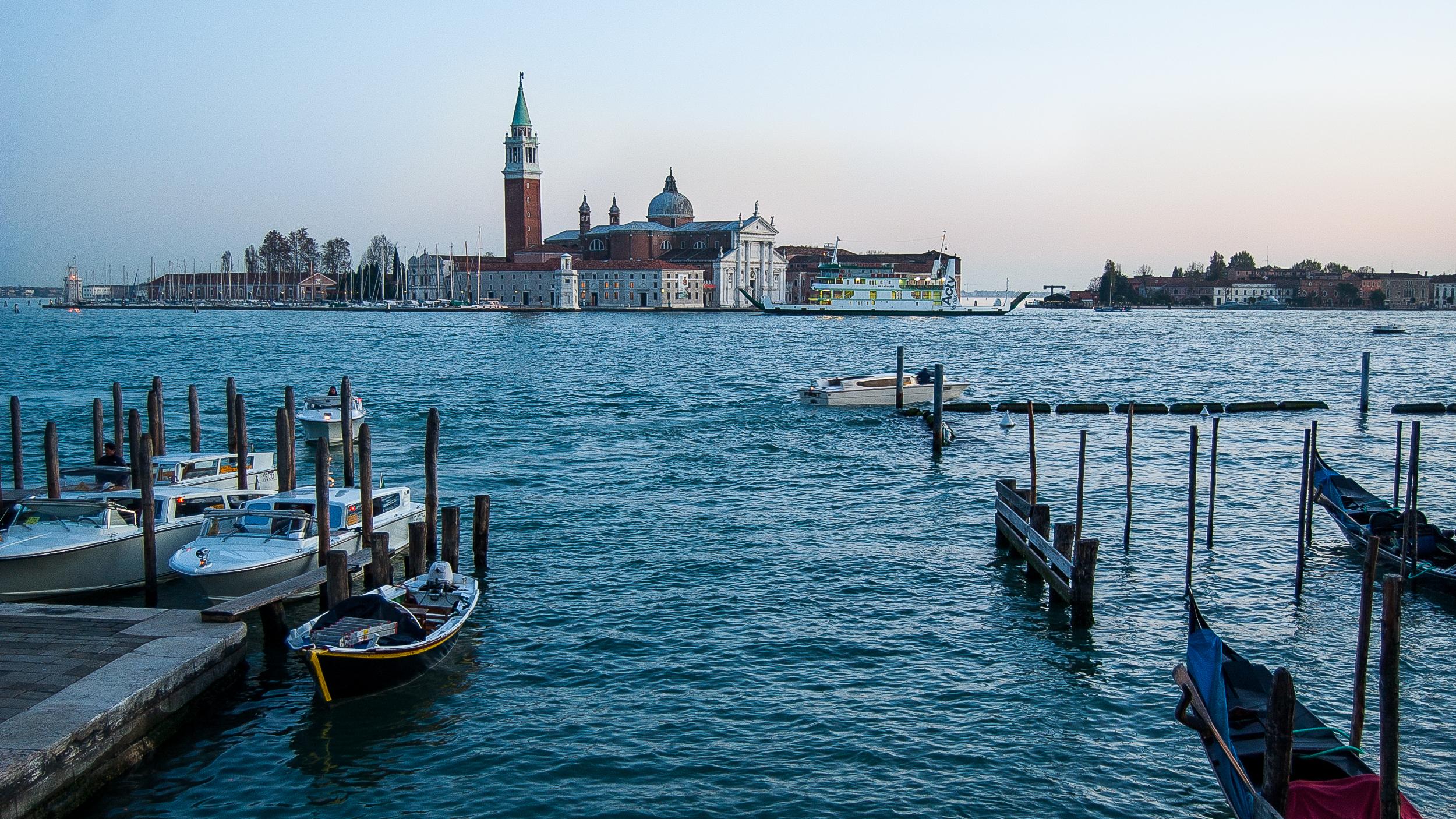 Venice Italy Gondolas Chiesa di San Giorgio Maggiore