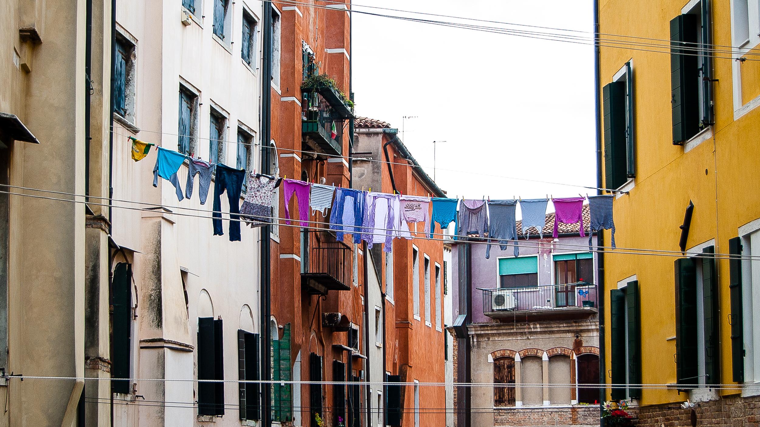 Venice Italy Laundry