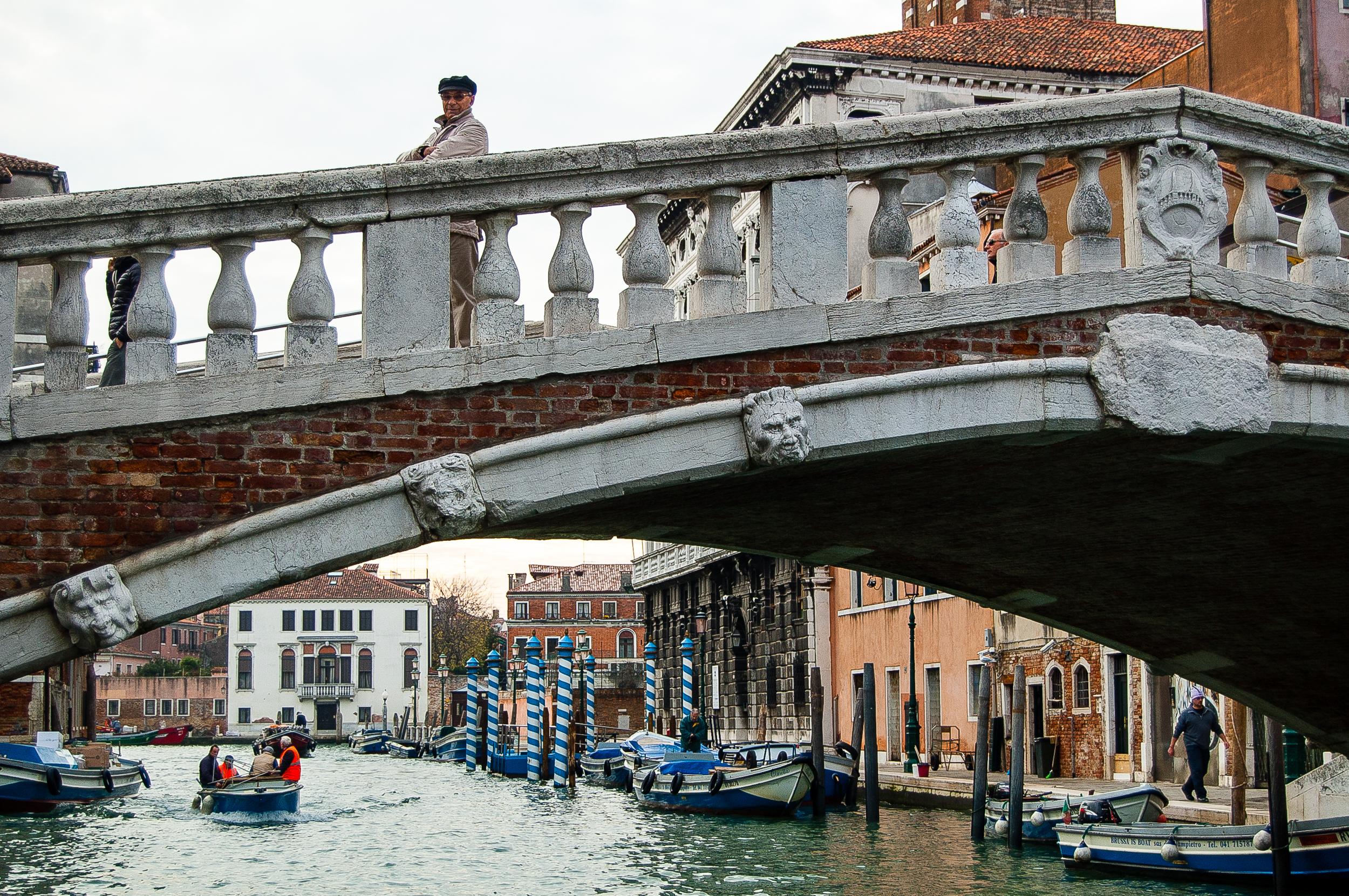 Venice Italy Canal Bridge Ponte
