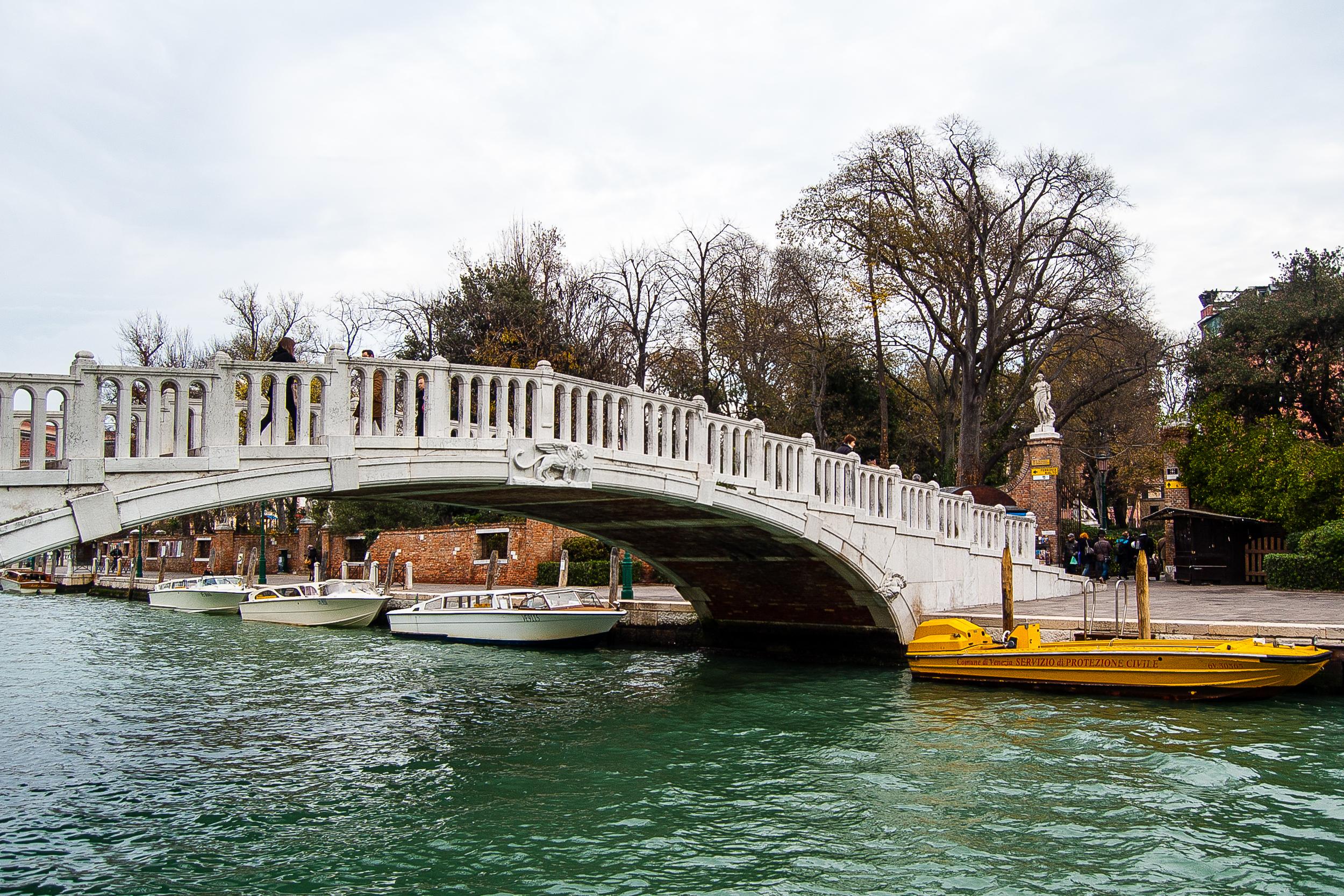 Venice Italy Canal Bridge