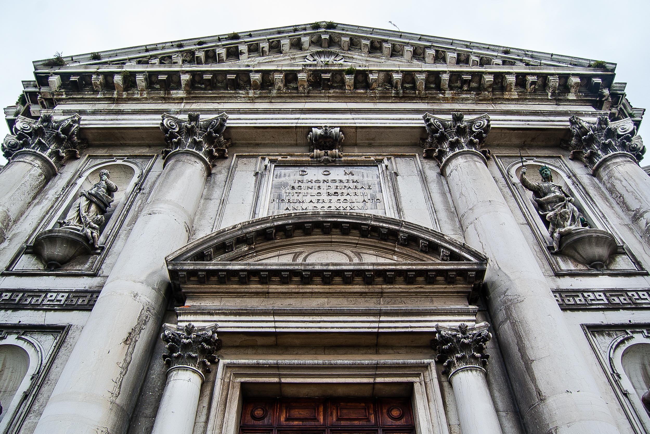 Venice Italy Santa Maria del Rosario