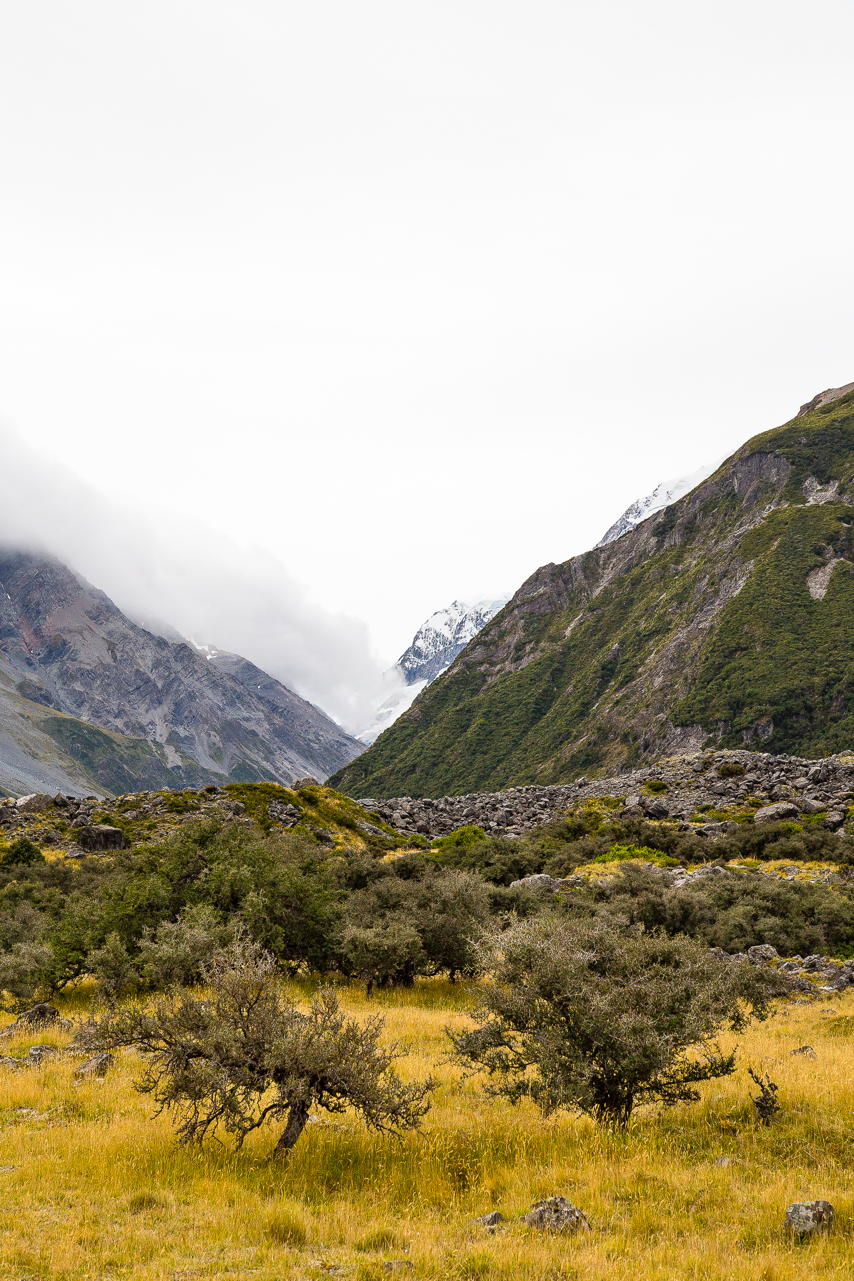 Mount Cook Hooker Valley Aoraki New Zealand