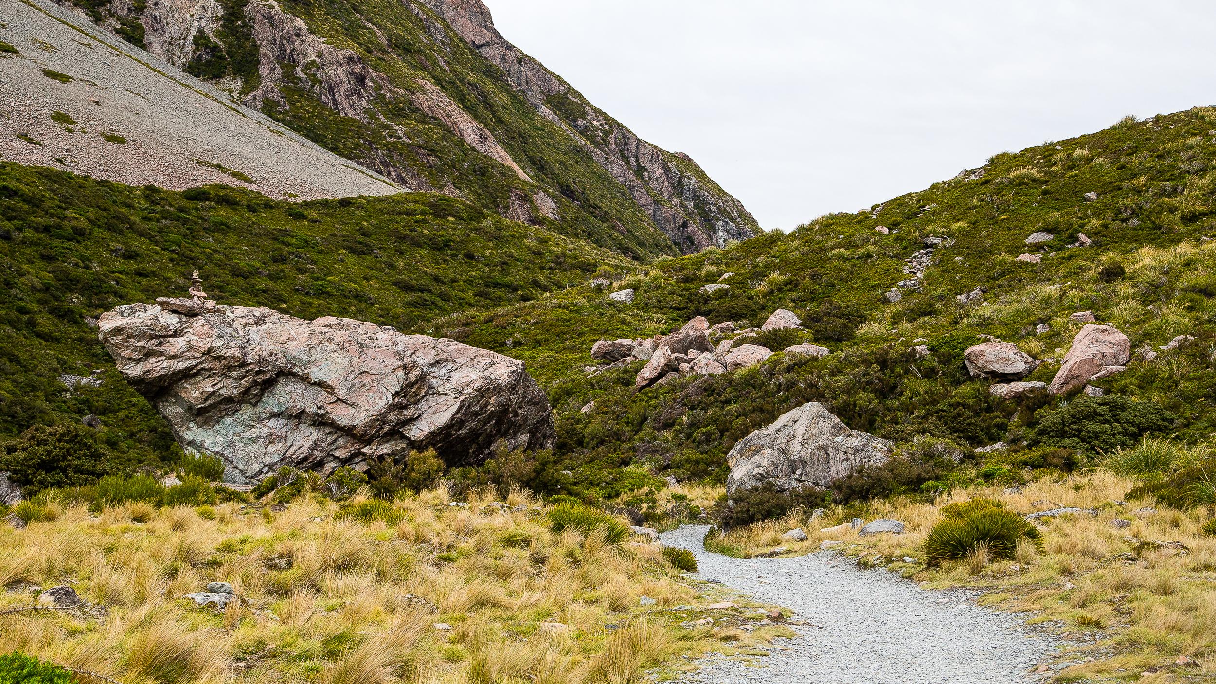 Hooker Valley Mount Cook Aoraki New Zealand