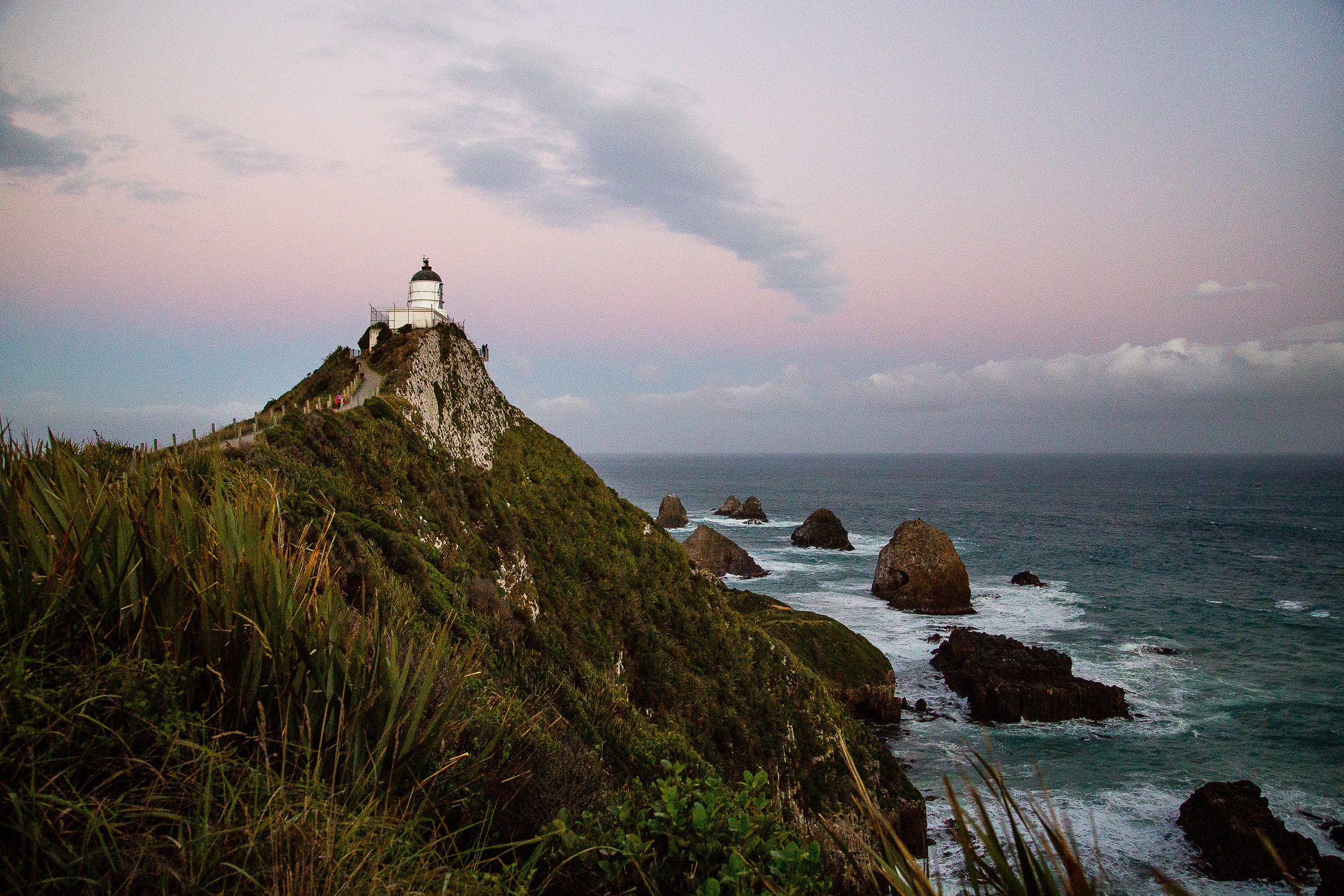 New Zealand Nugget Point Lighthouse