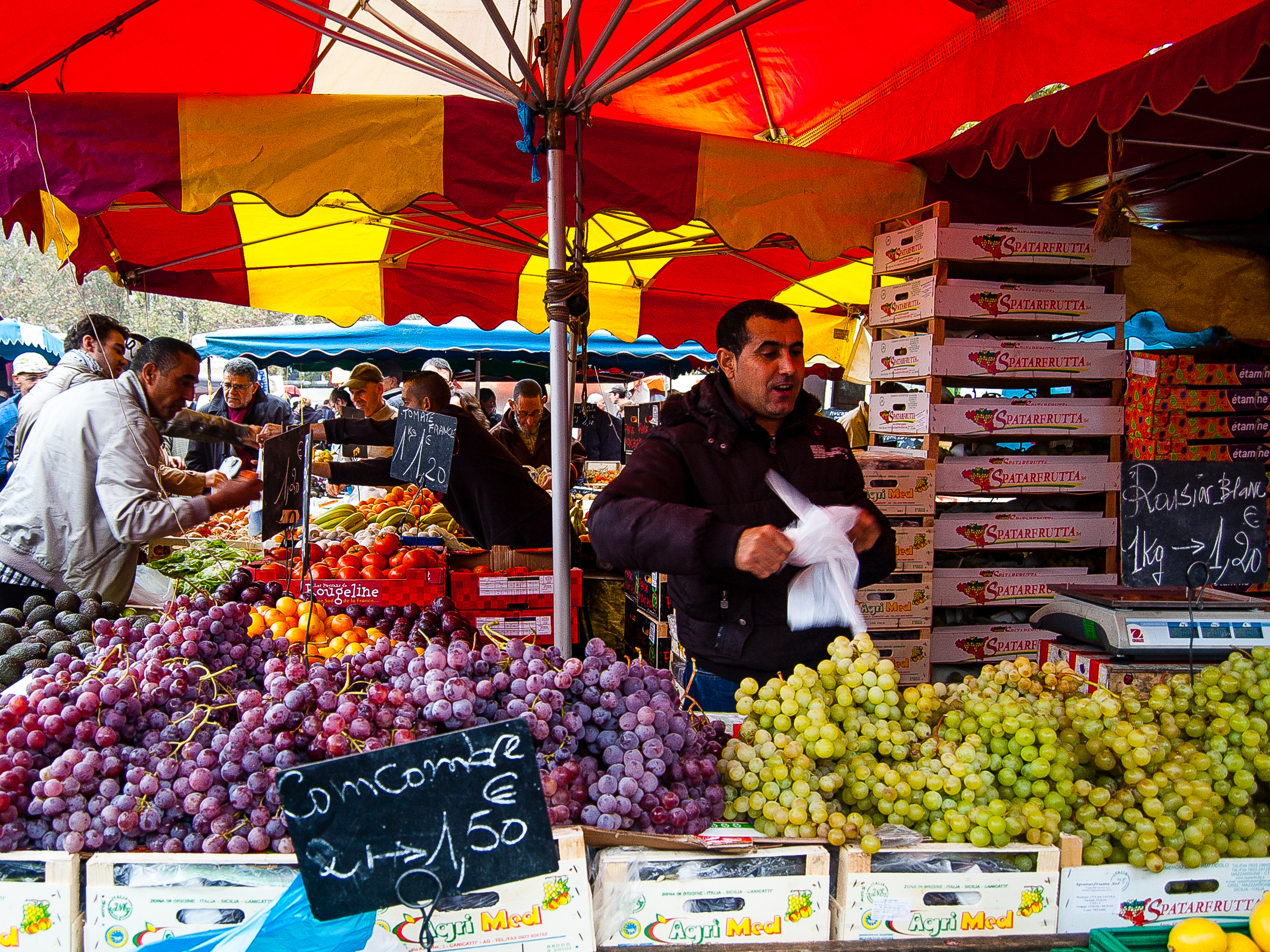Lille is home to the largest market in all of France, the Marché de Wazemmes.