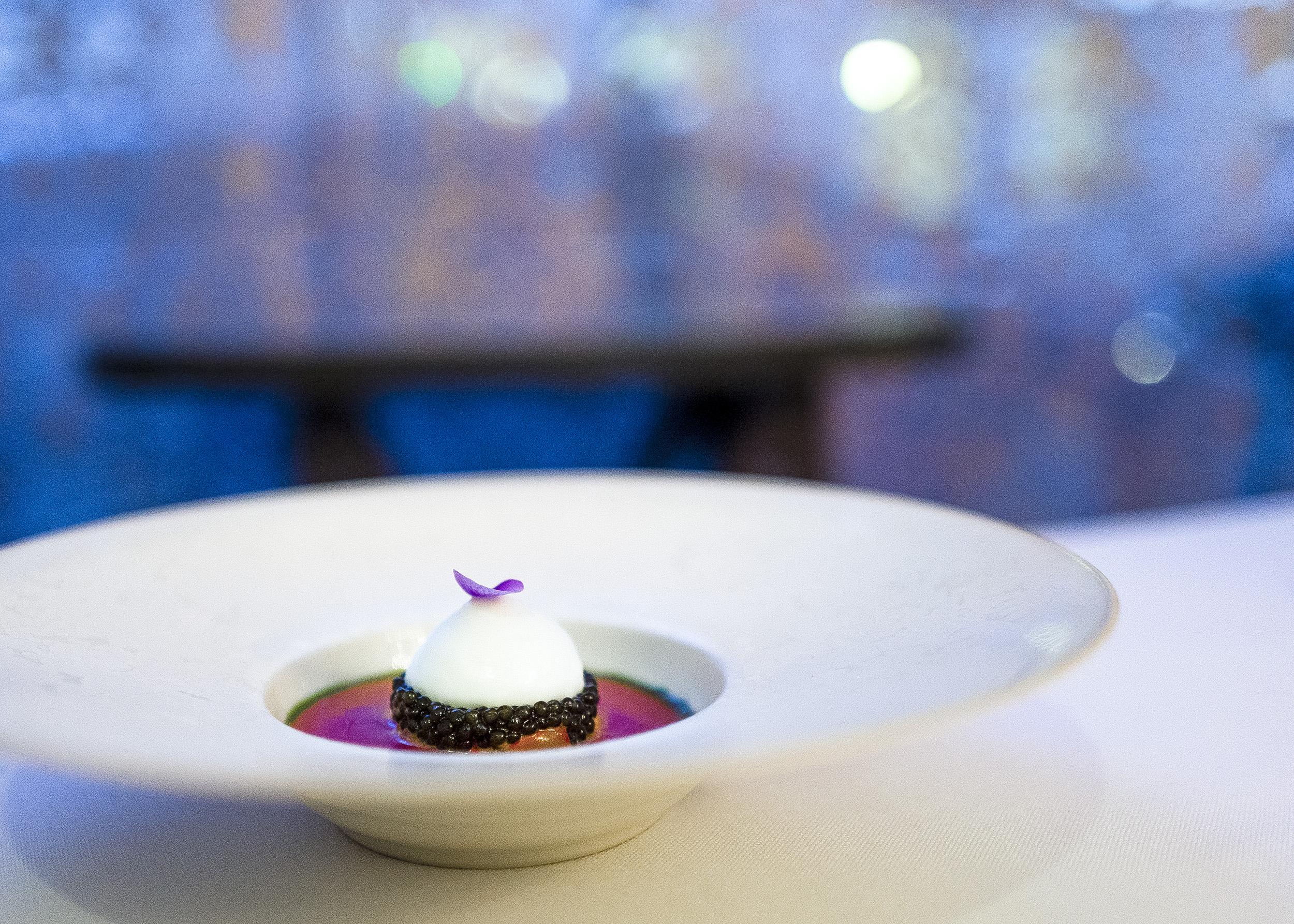 Shrimp Tartare, Gazpacho, Caviar, [?]