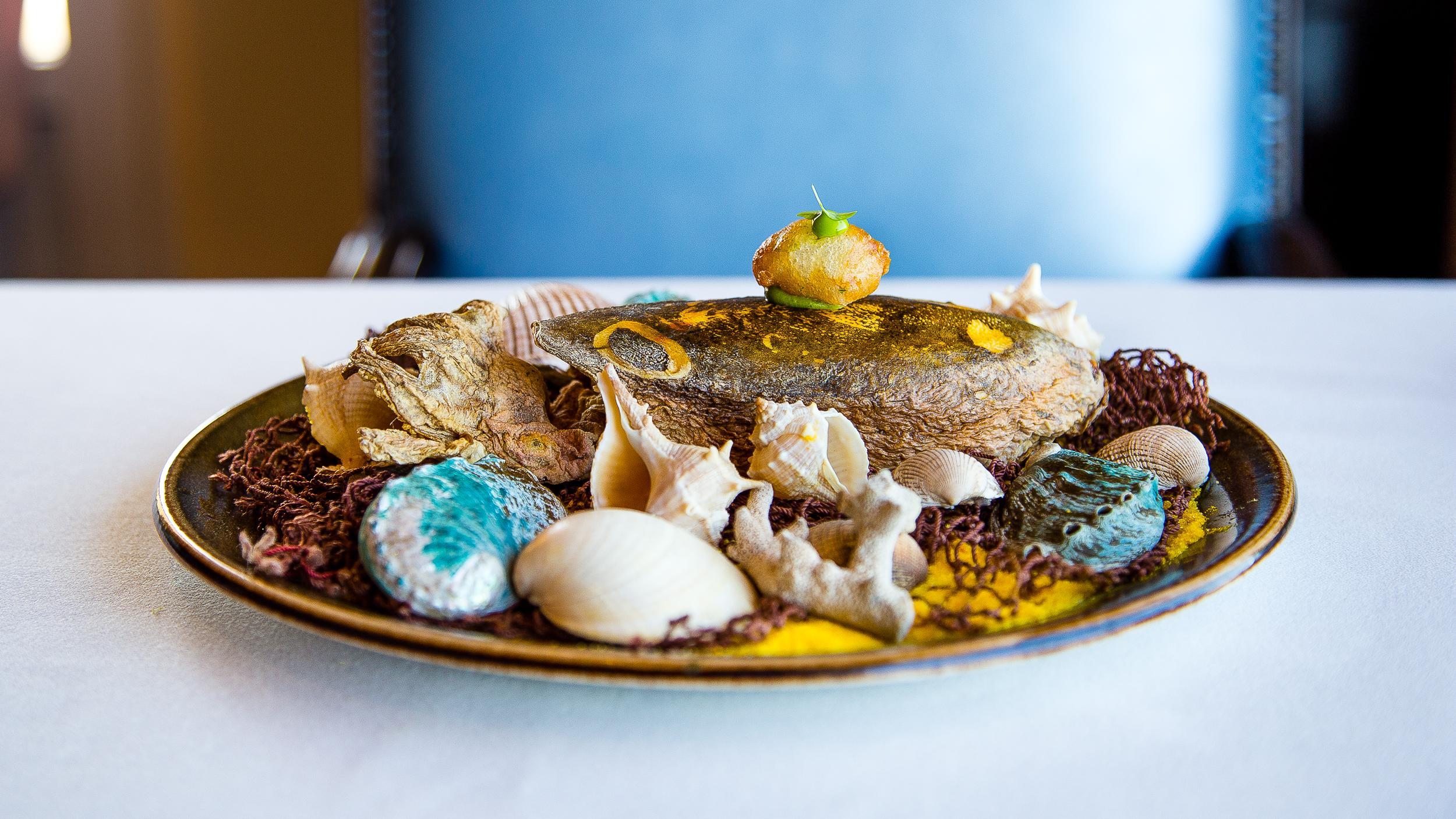 Fried Cuttlefish with Bergamot Mayonaise