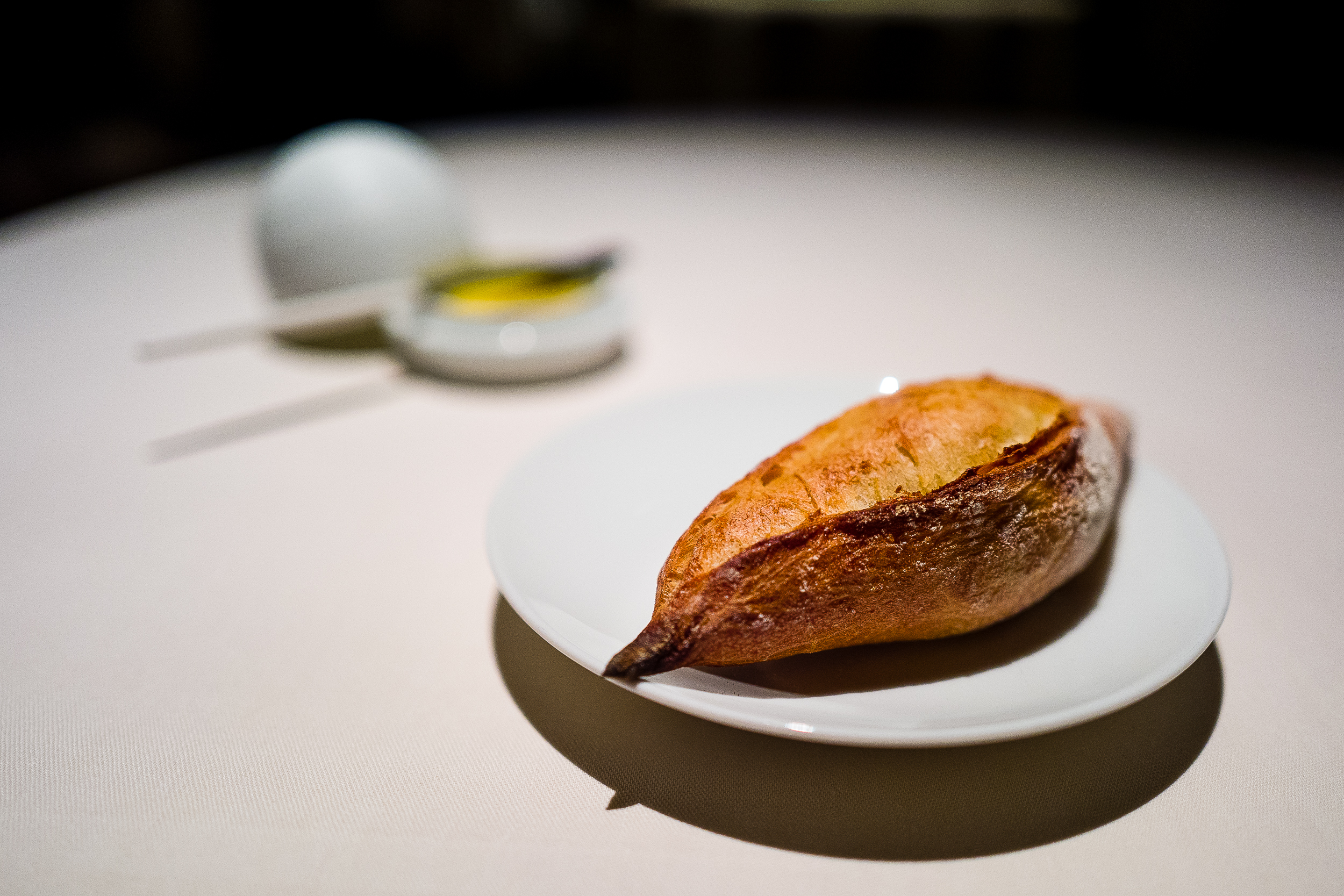 Bread and Butter with Smoked Fleur de Sel from St. Malo [oh my god, one of the best butters of my life. I ran out of bread and honestly thought about just eating it straight up.]