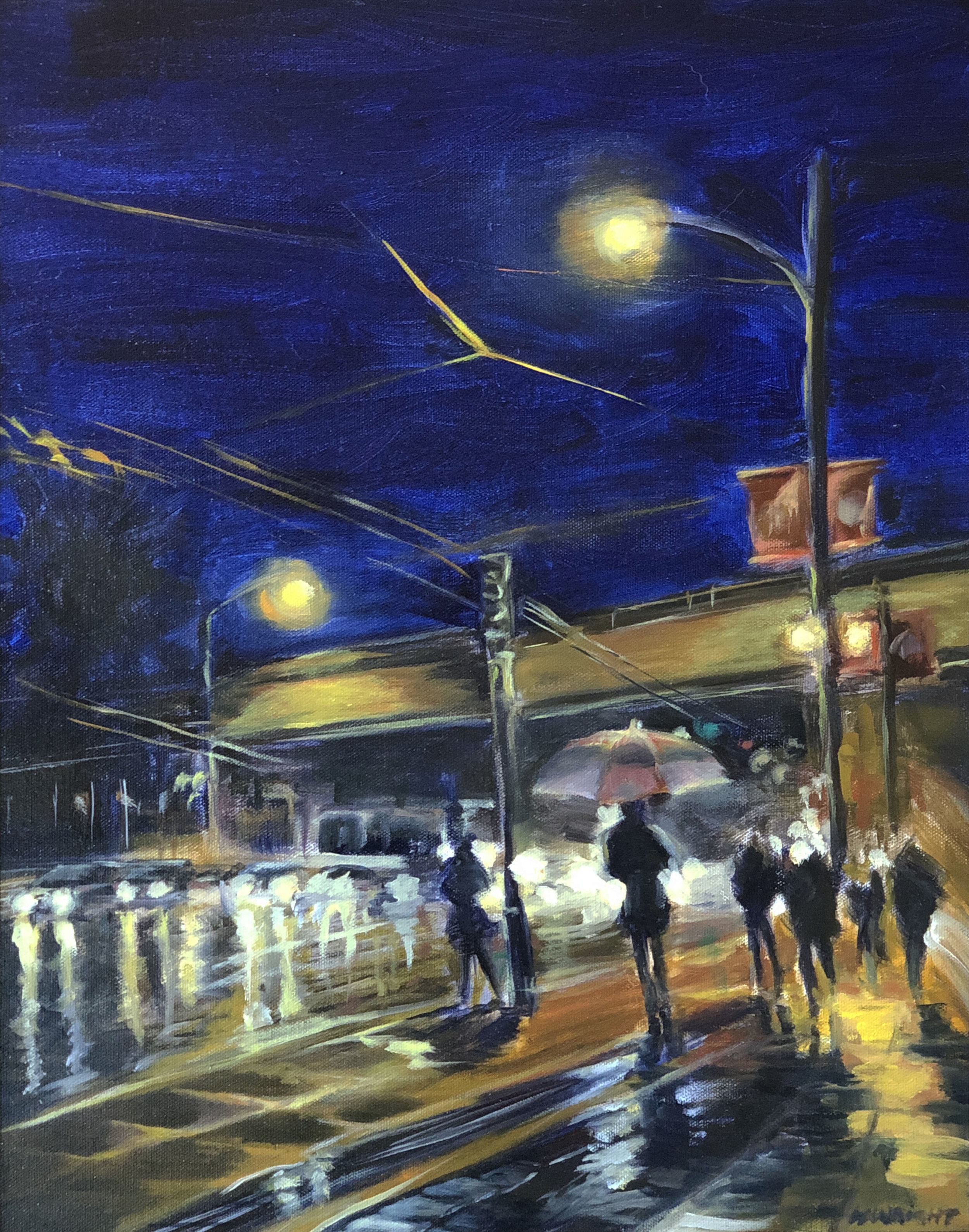 WRIGHT_Rainy Night on Commercial Drive (oil_canvas) 15x20.jpg