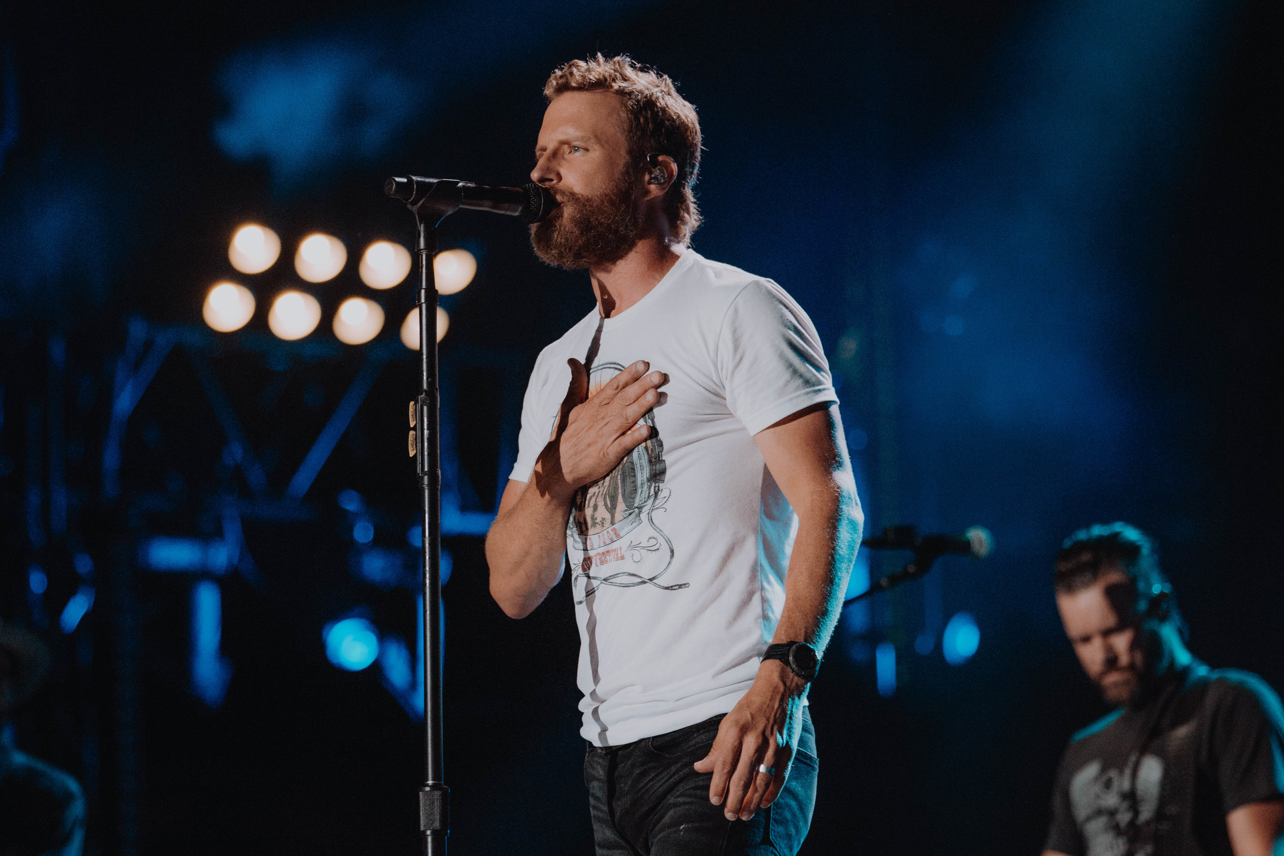 Dierks Bentley at Nissan Stadium for CMA Fest in Nashville, TN on June 10th   This so far is still the biggest show I have ever had the opportunity to photograph. I had never done a stadium show before and there is a certain energy that comes with photographing in a stadium of 69 thousand people. A type of energy I don't think I'll ever be able to explain. Hoping I get a chance to experience it once more next year.