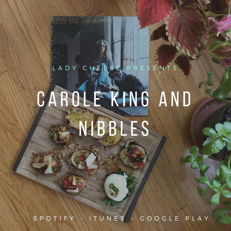 We eat, write & talk about Carole King. - Meet Josie - Theresa -Julie