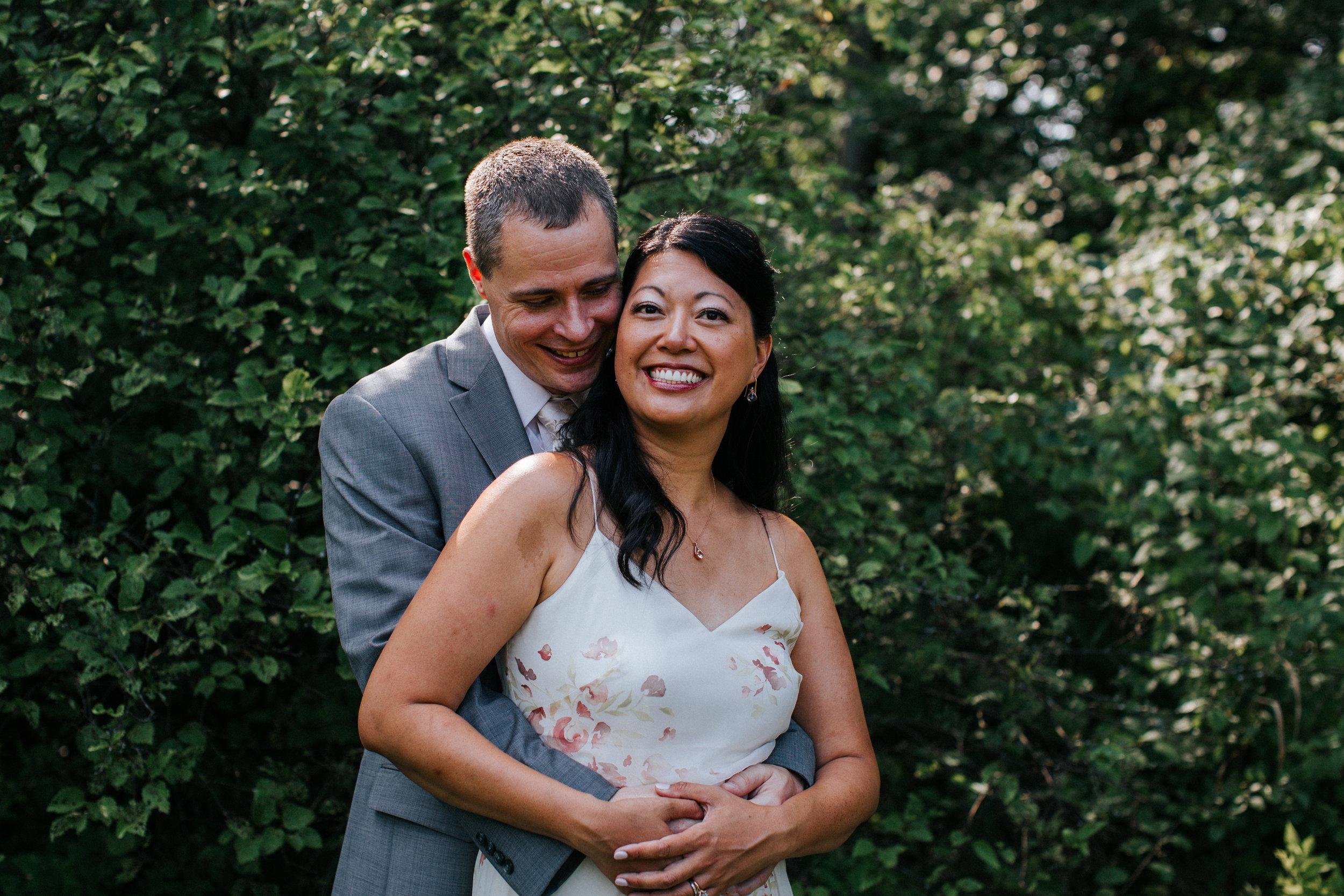 Morton Arboretum Intimate Wedding
