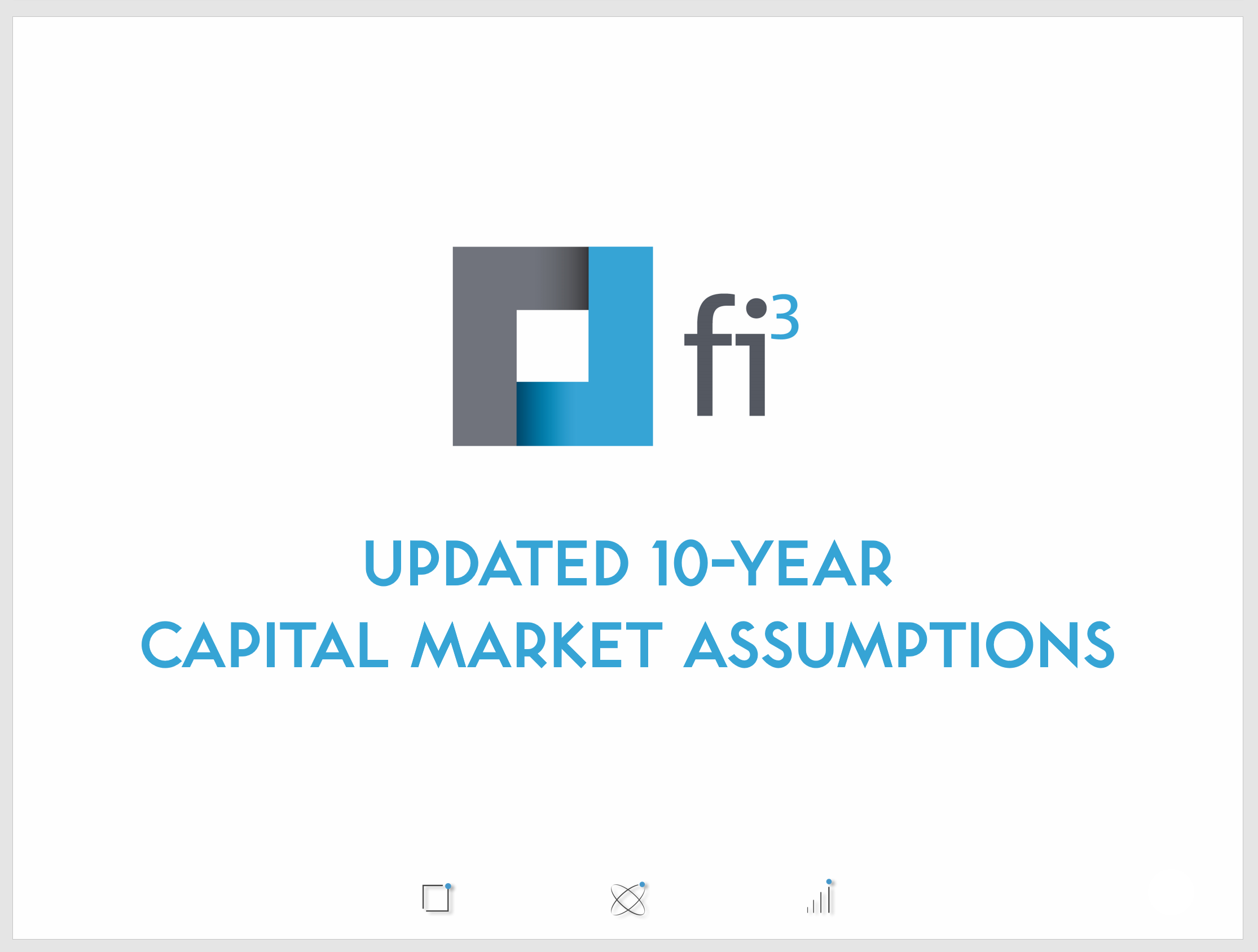 Download our Updated 10-Year Capital Market Assumptions.
