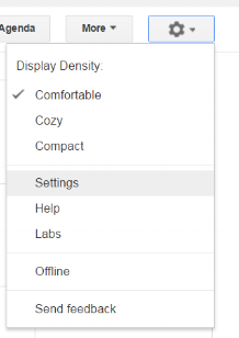 Settings for Google Calendar for Small Business Owners