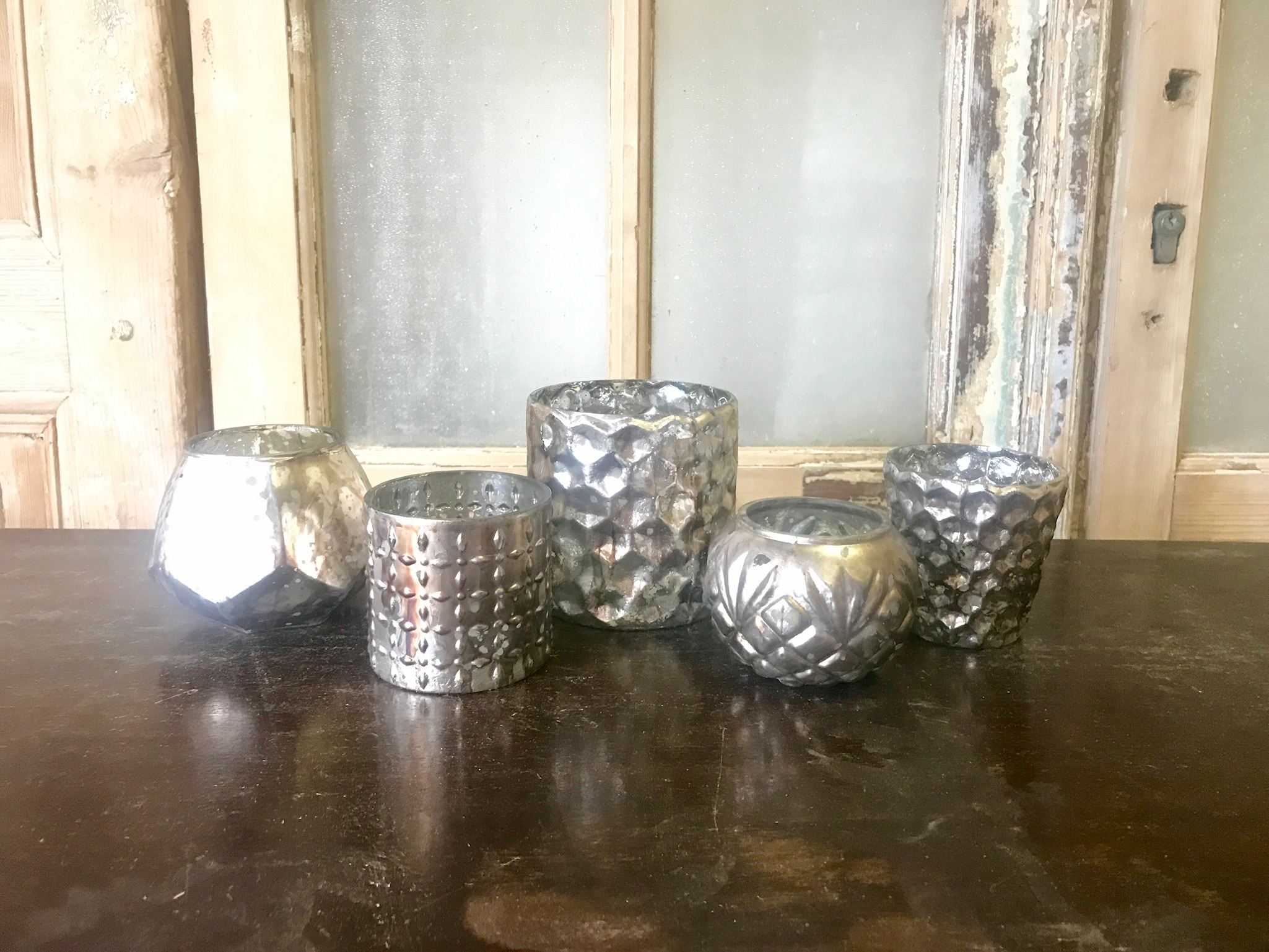 "$4/votive & 2"" candle or $16/set"