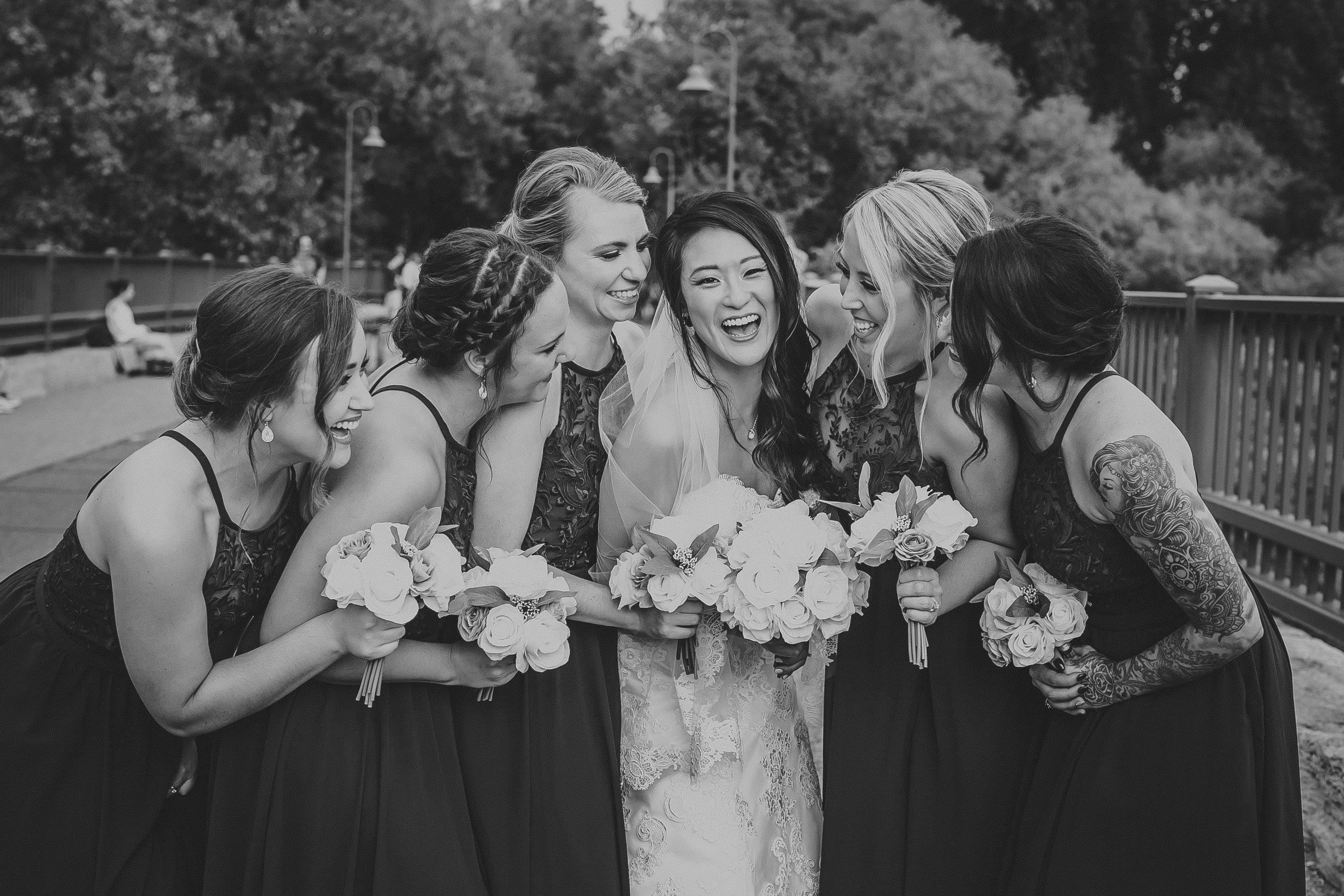 Wedding up-dos by Vizi Staff