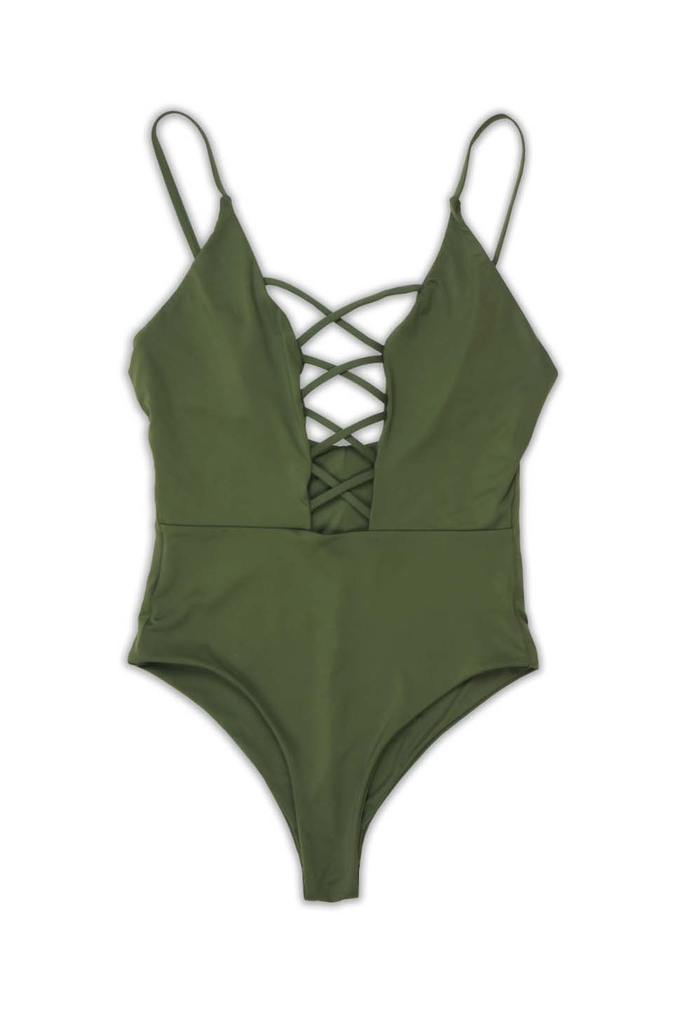 Zohra Seamless Caged Front One Piece