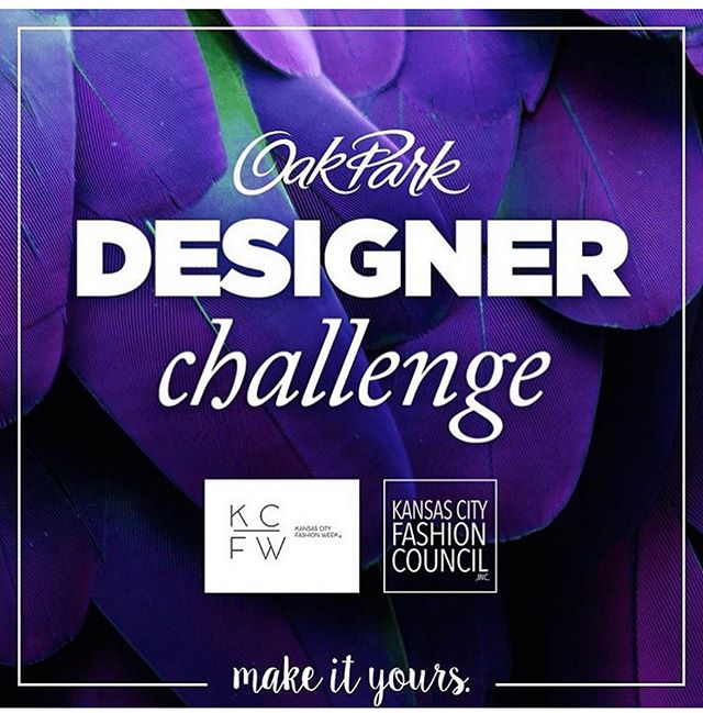 APPLICATIONS ARE DUE TODAY!  Oak Park Mall, Kansas City Fashion Week, LLC, and the Kansas City Fashion Council, Inc. are looking for the next great local designer! If you're an emerging designer, apply to participate in our Designer Challenge! Five designers will be selected to participate in weekly challenges that showcase their designs at Oak Park Mall.  Head to www.kcfashioncouncil.org/designerchallenge to apply!