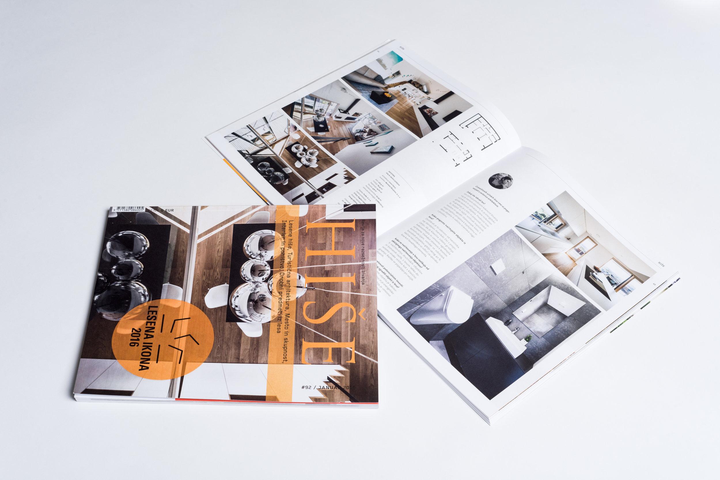 Published in architecture magazine HISE - WOOD ICON 2016