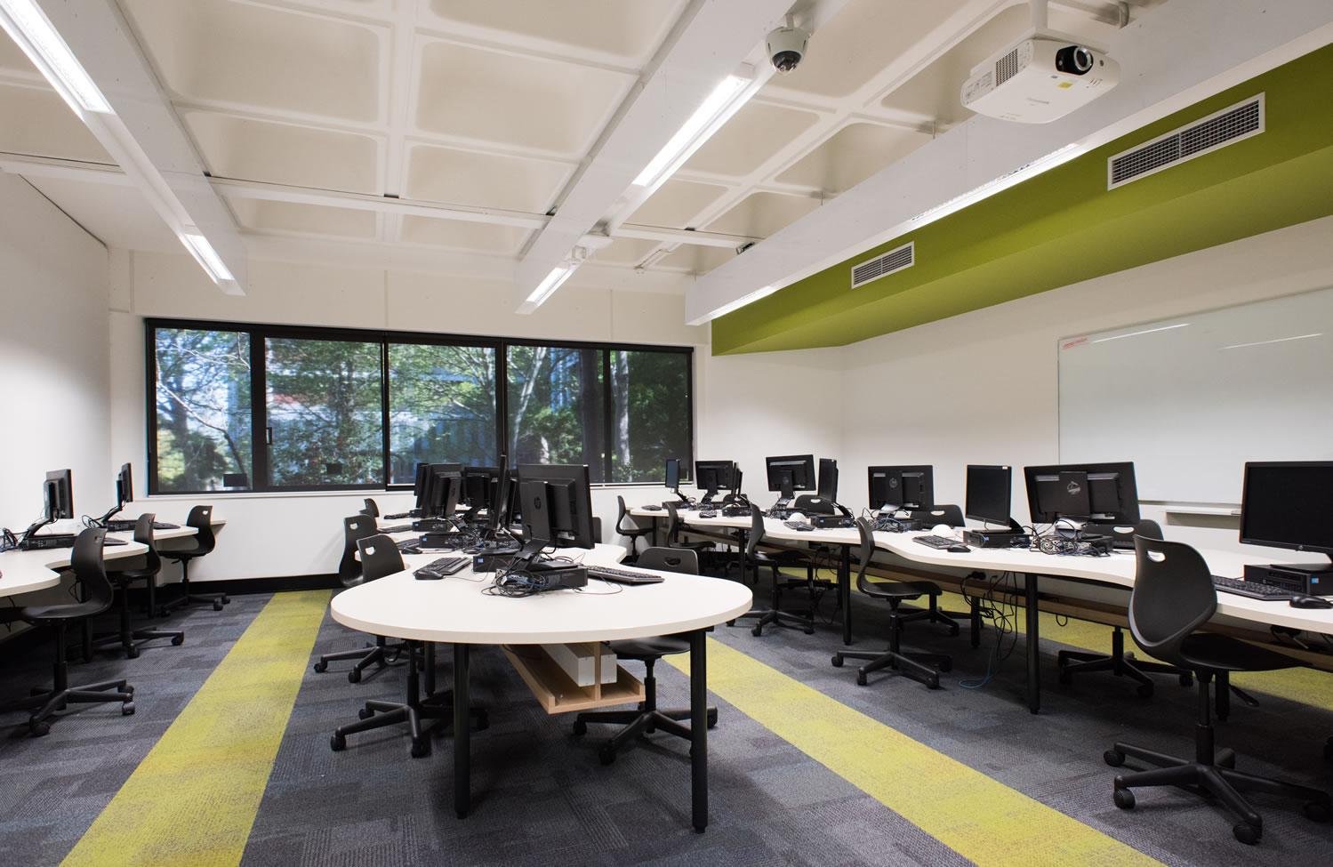 Victoria University- Ground Floor Technology Centre