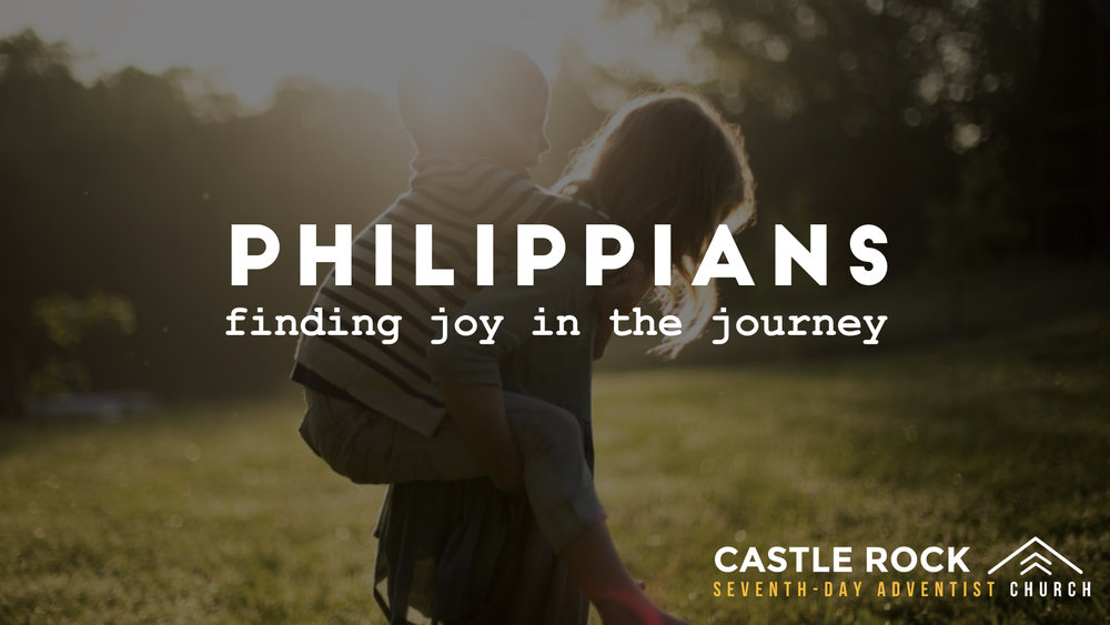 Philippians: Finding Joy In The Journey, Pt  2 Sermons At