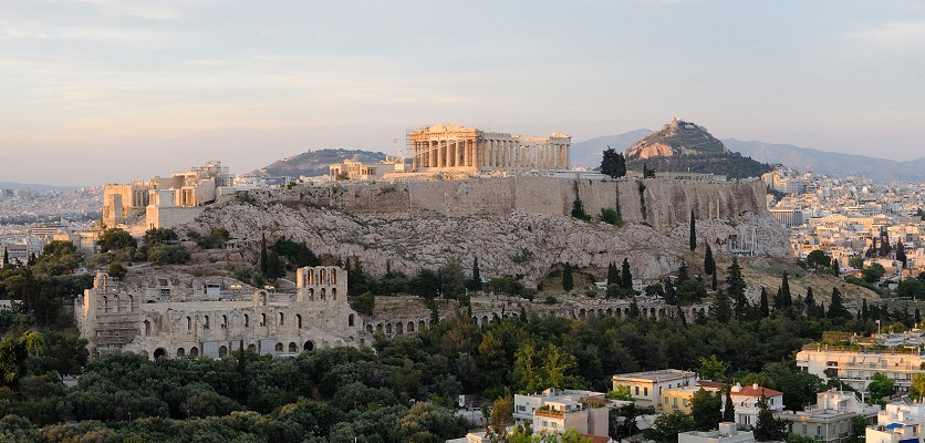 Credit: WikiMedia Commons: View of Acropolis Athens