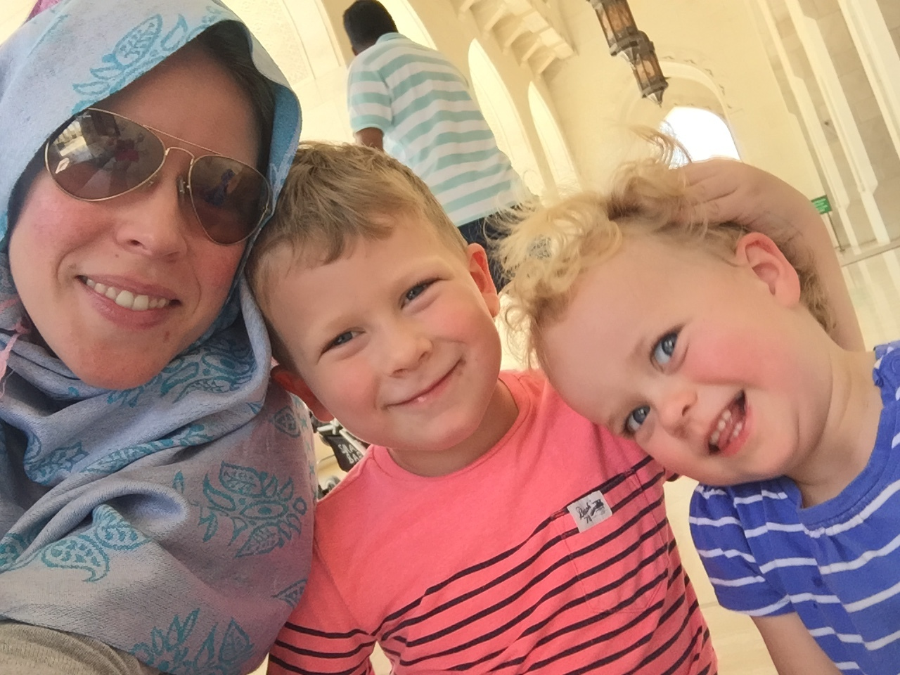 Muscat Grand Mosque Selfie with Things.JPG