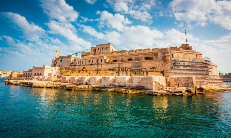 Birgu, Malta. Credit: Shutterstock.