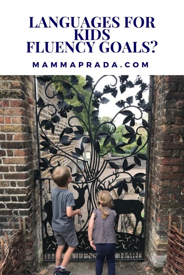 Mammaprada Italian Travel and Bilingual Parenting Blog | Determining your child's language fluency